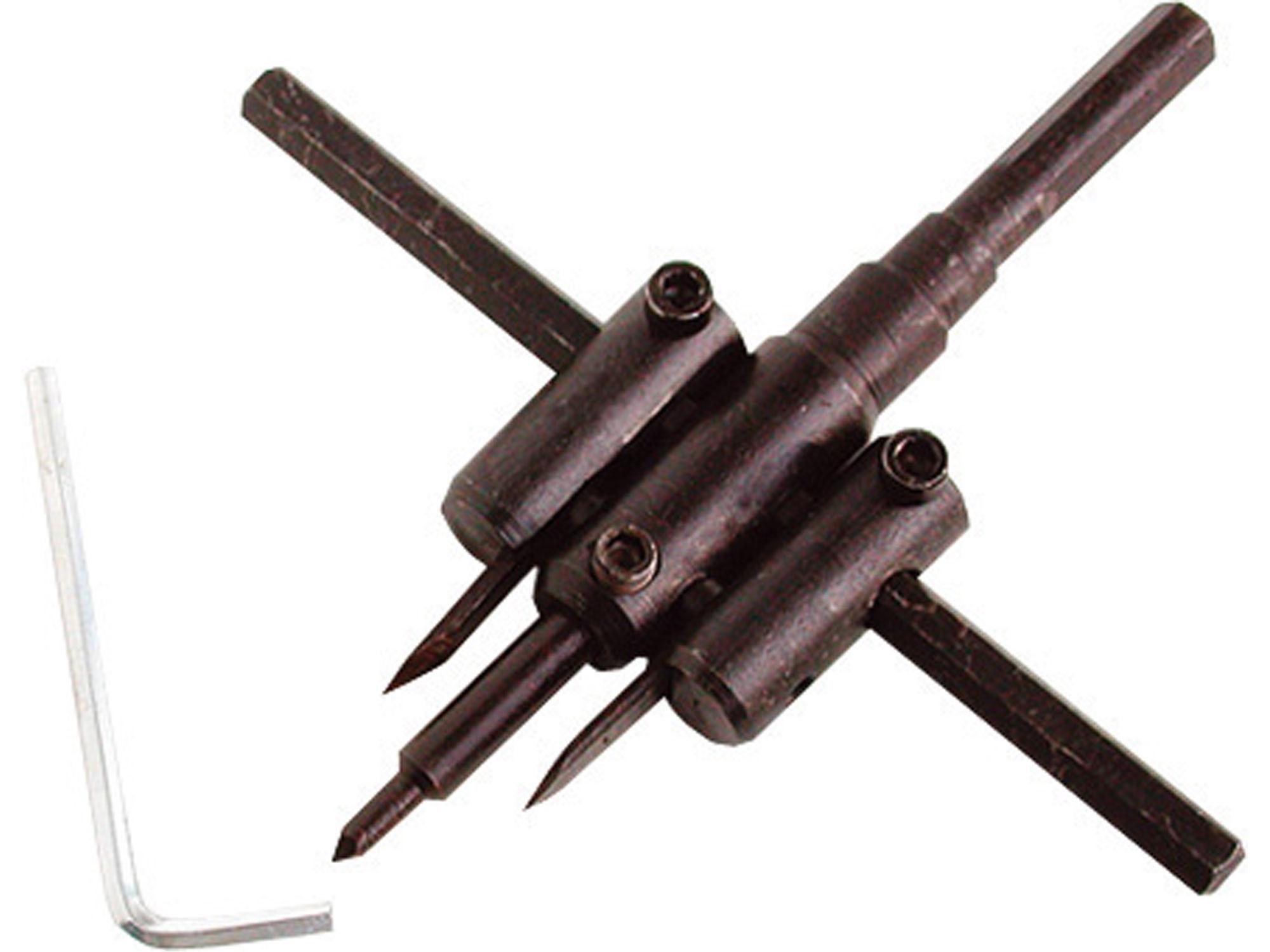 vrták nastavitelný vykružovací, O 30-120mm
