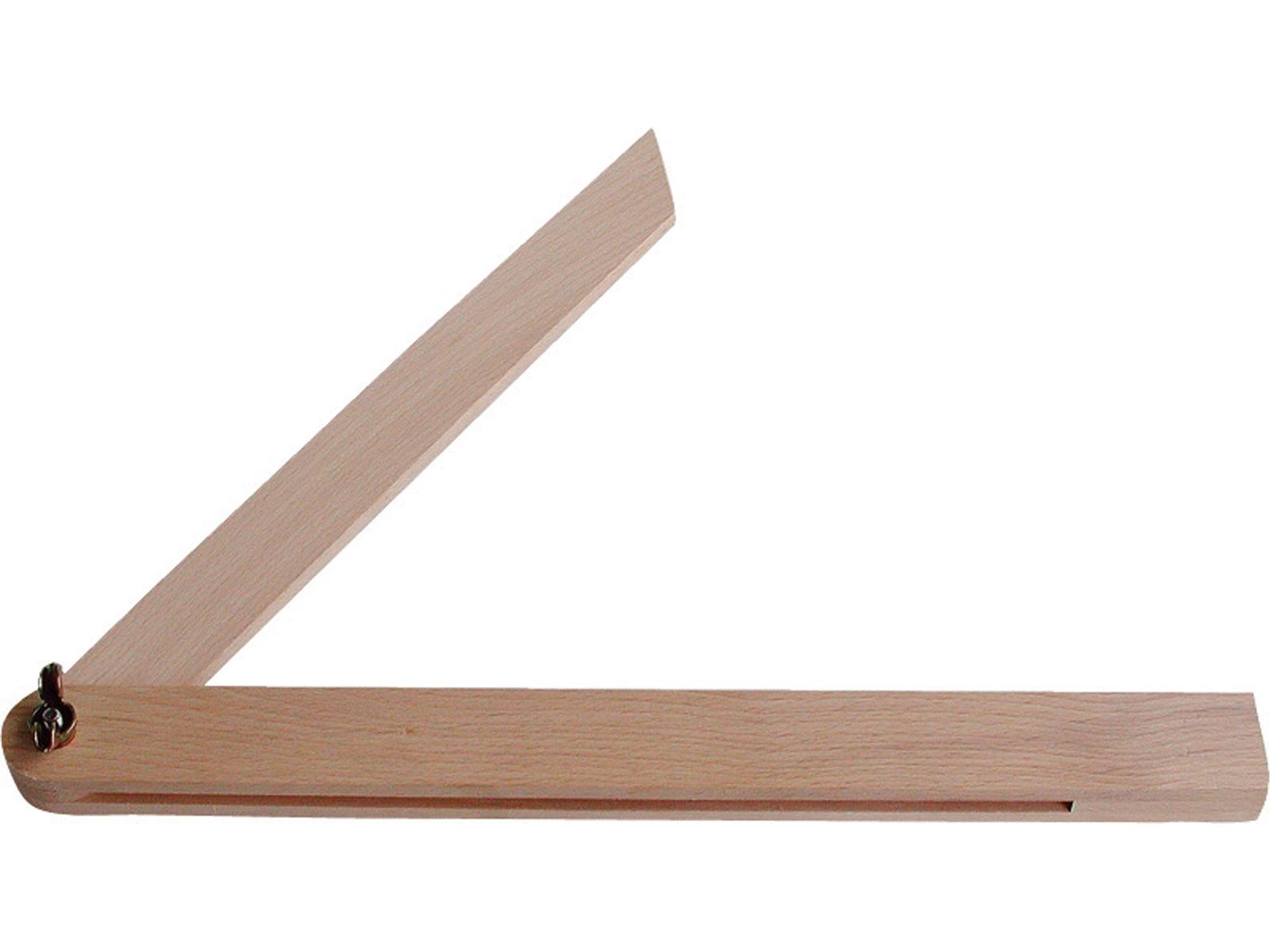 pokosník nastavitelný dřevěný, 400mm