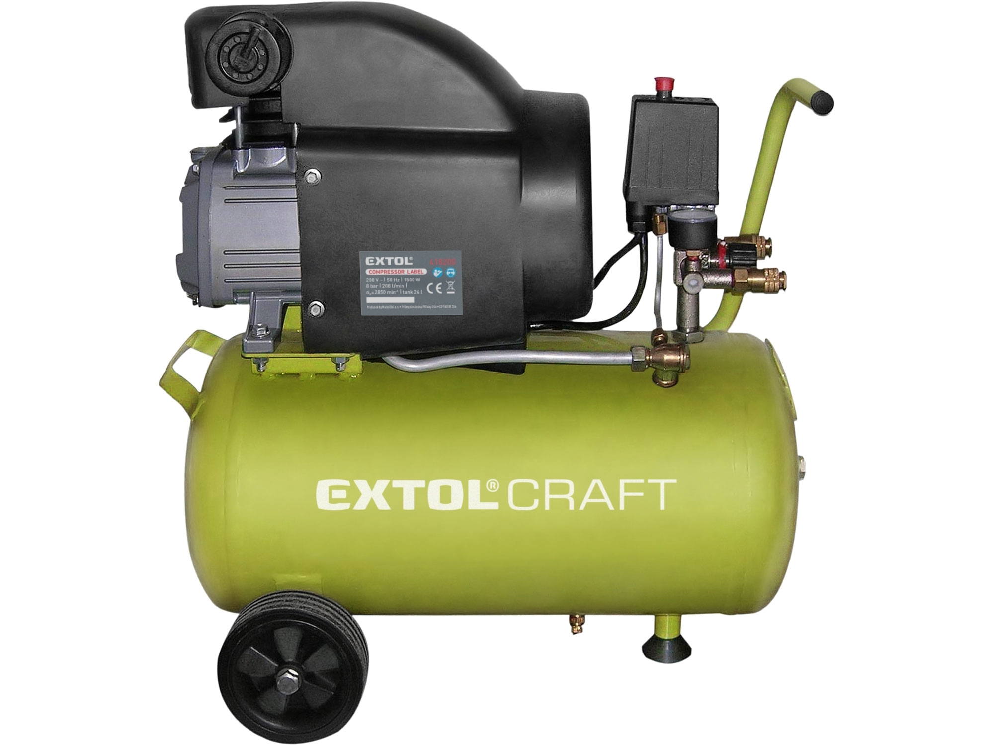 Kompresor olejový, 1500W EXTOL CRAFT 418200