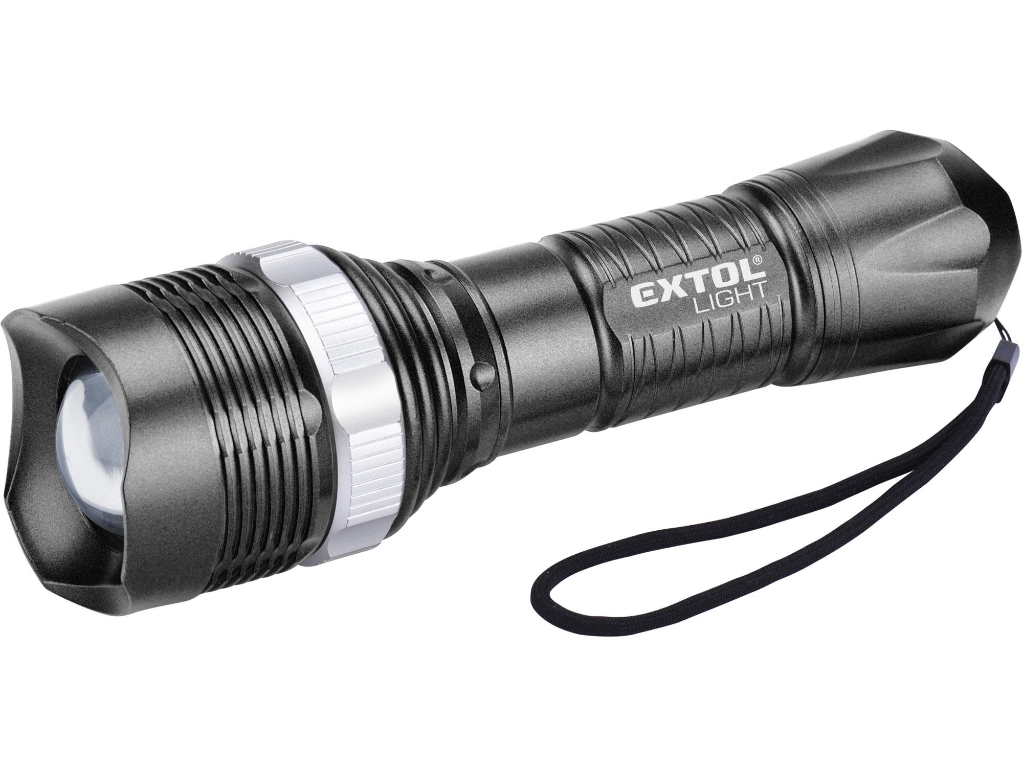 svítilna 40lm, ZOOM, 1W LED, ABS plast