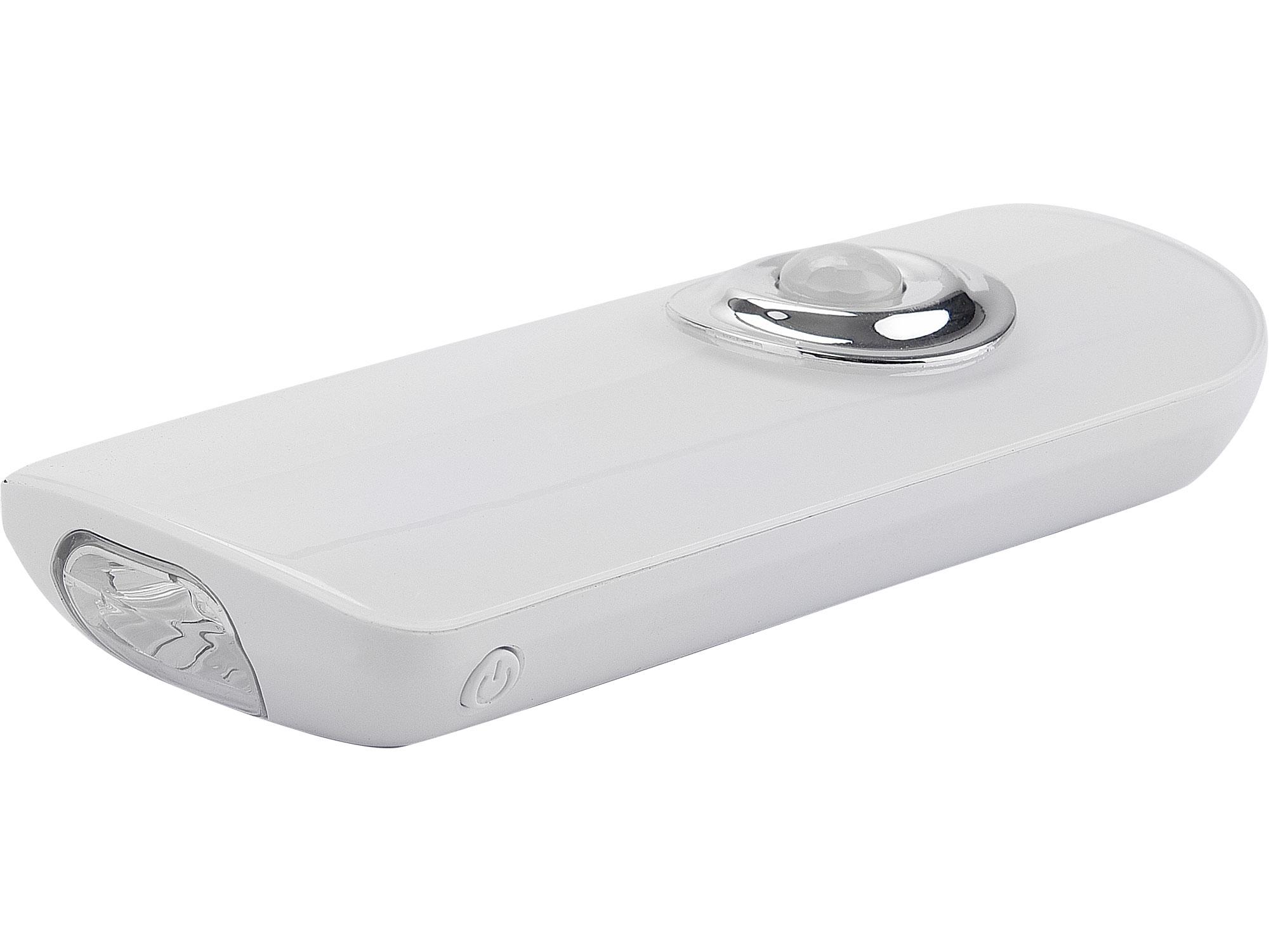 svítilna pohotovostní s pohybovým čidlem, indukční nabíjení, Li-ion, 16+2 LED