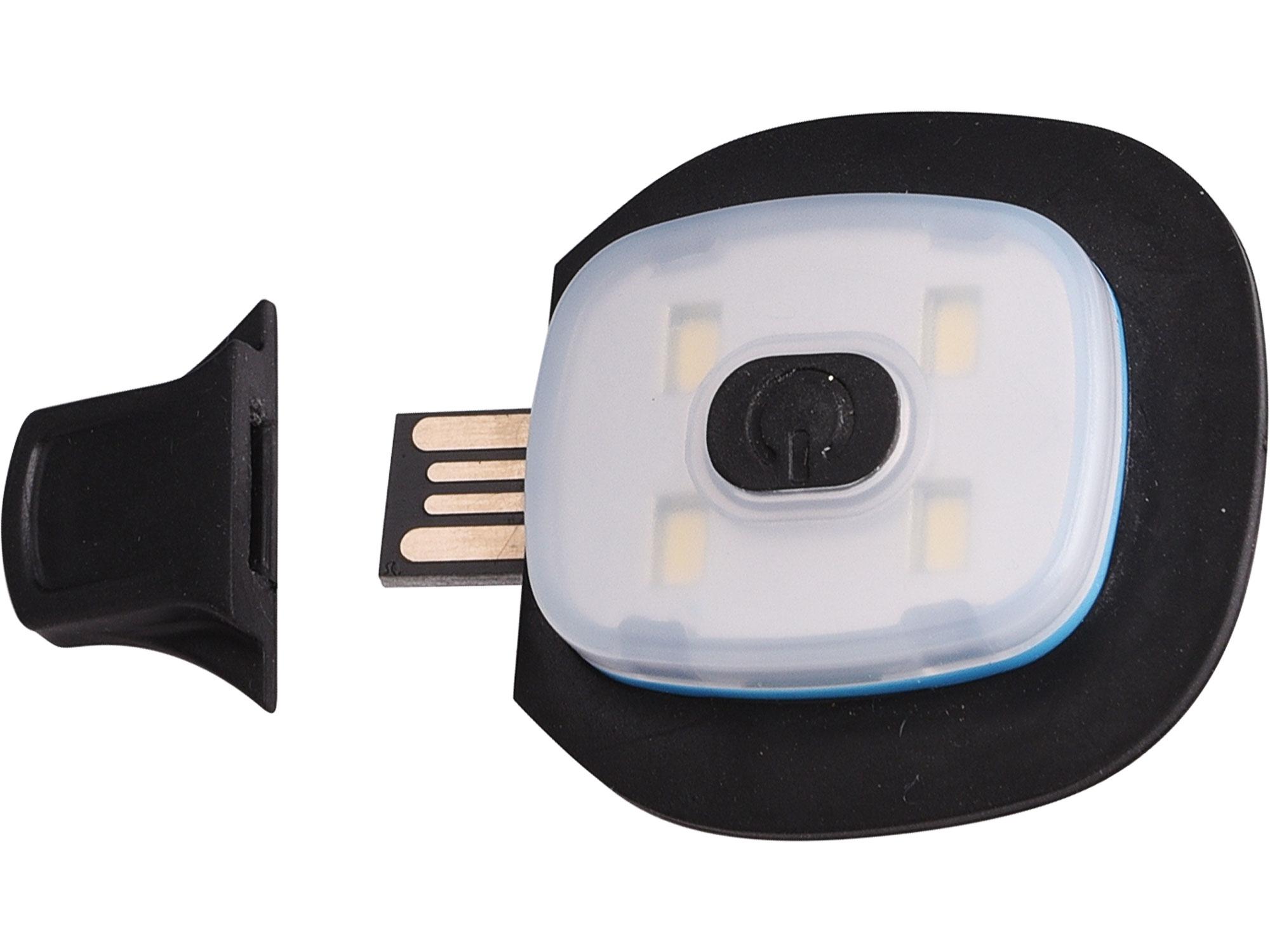 světlo do čepice, náhradní, USB nabíjení