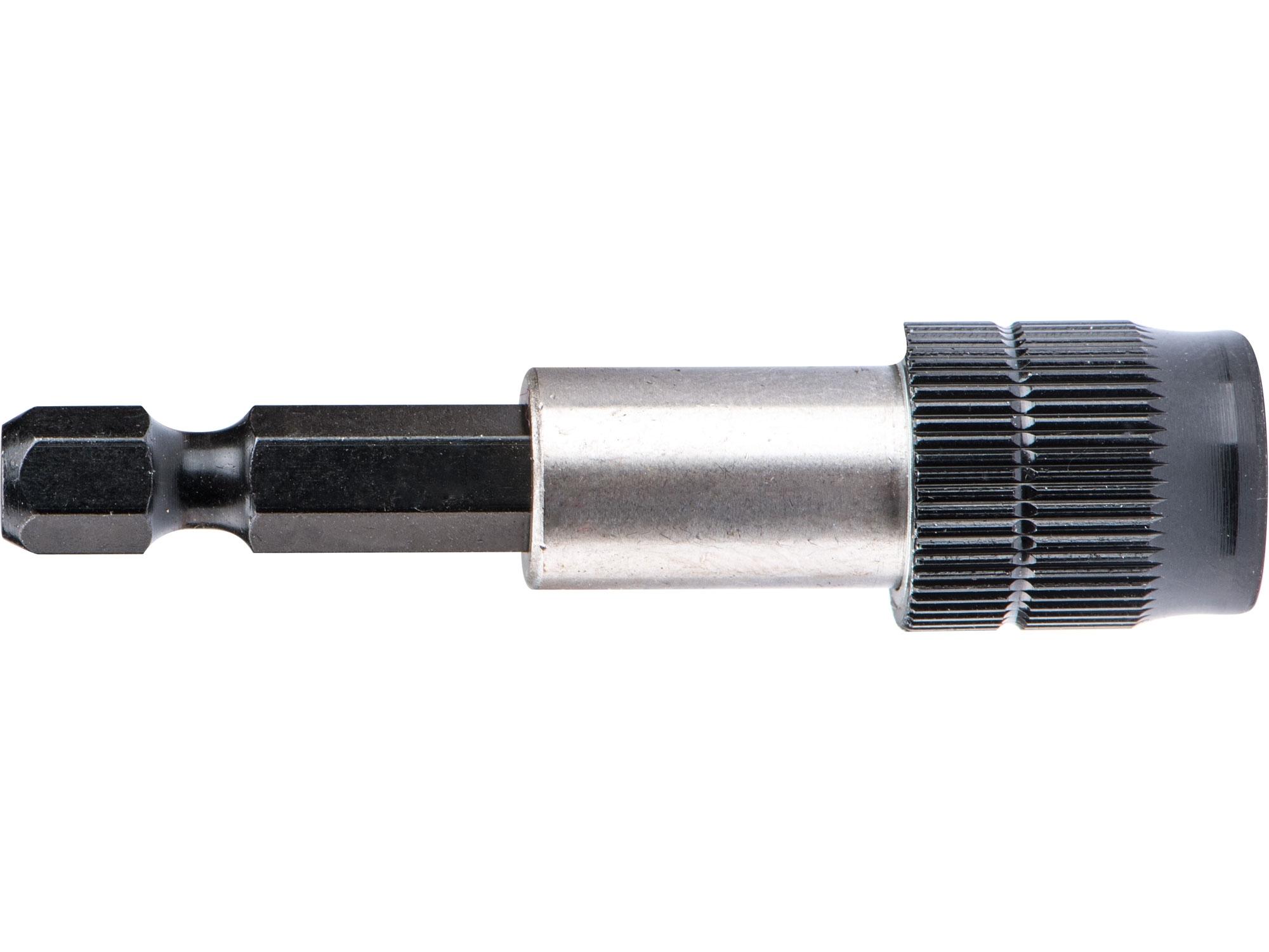 "držák hrotů do vrtačky, 1/4""x60mm, Fix-Clip, CrV"