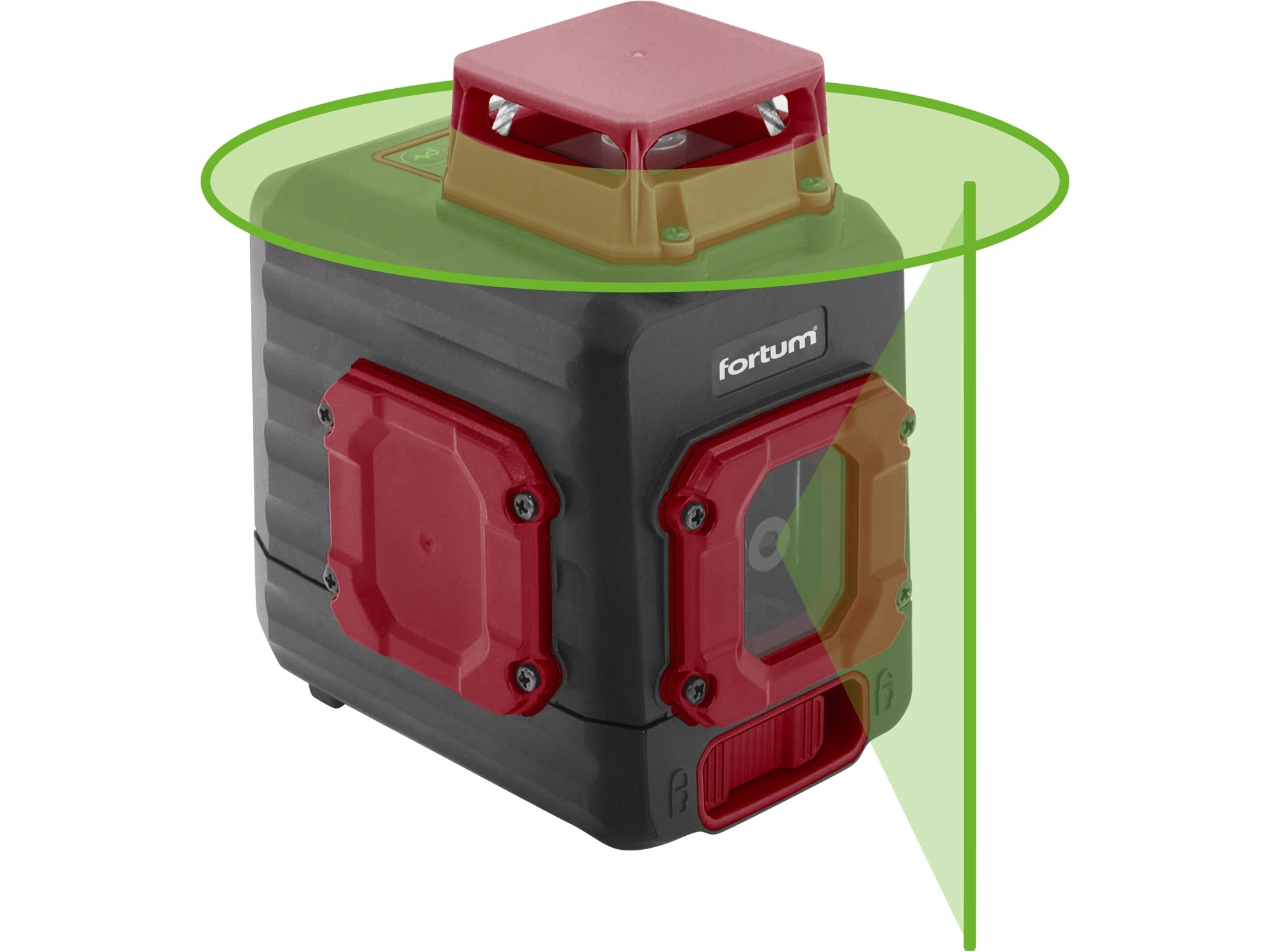 laser zelený liniový, křížový samonivelační