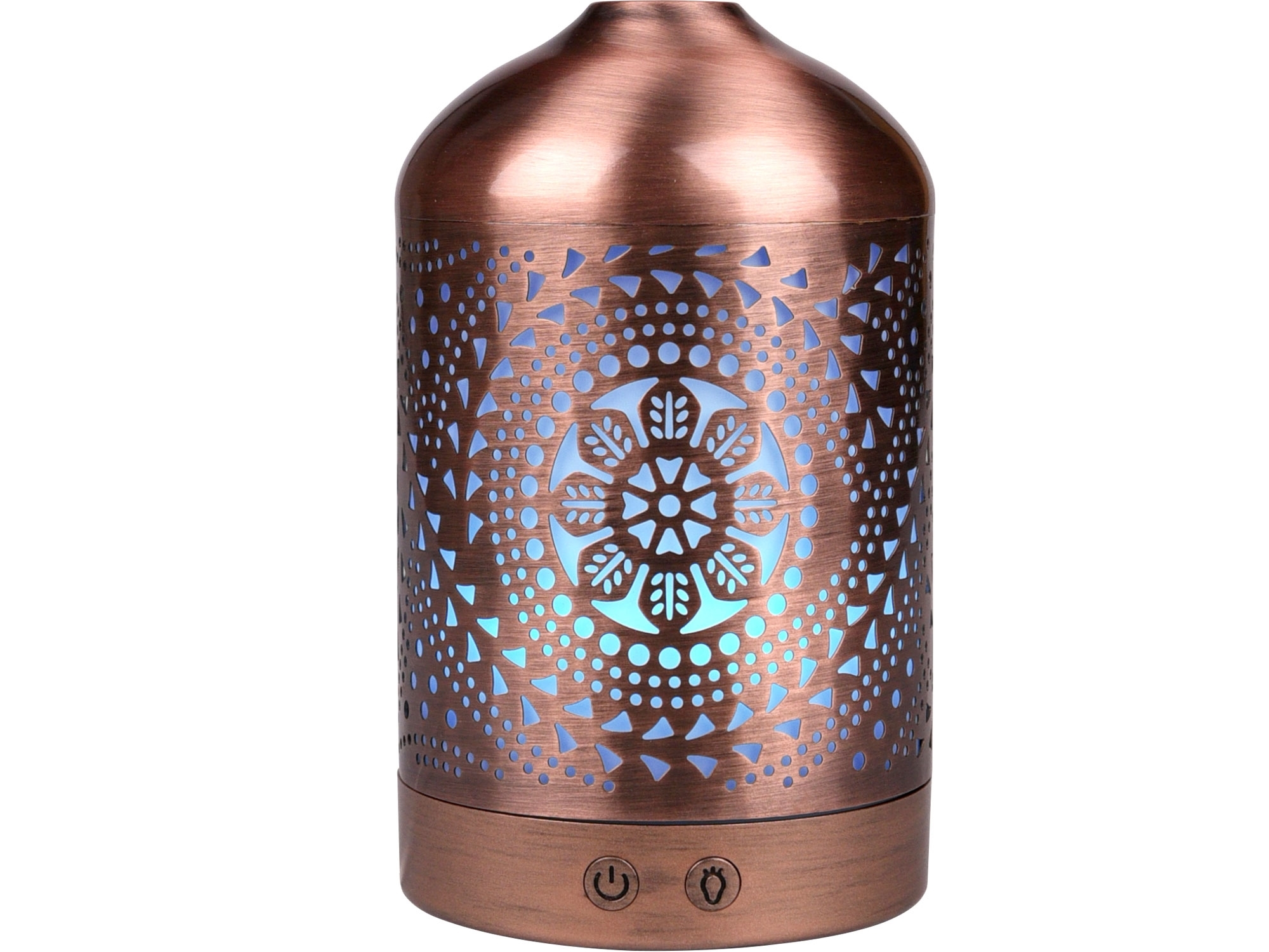 aroma difuzér ORIENT, osvěžovač a zvlhčovač vzduchu, kovový povrch