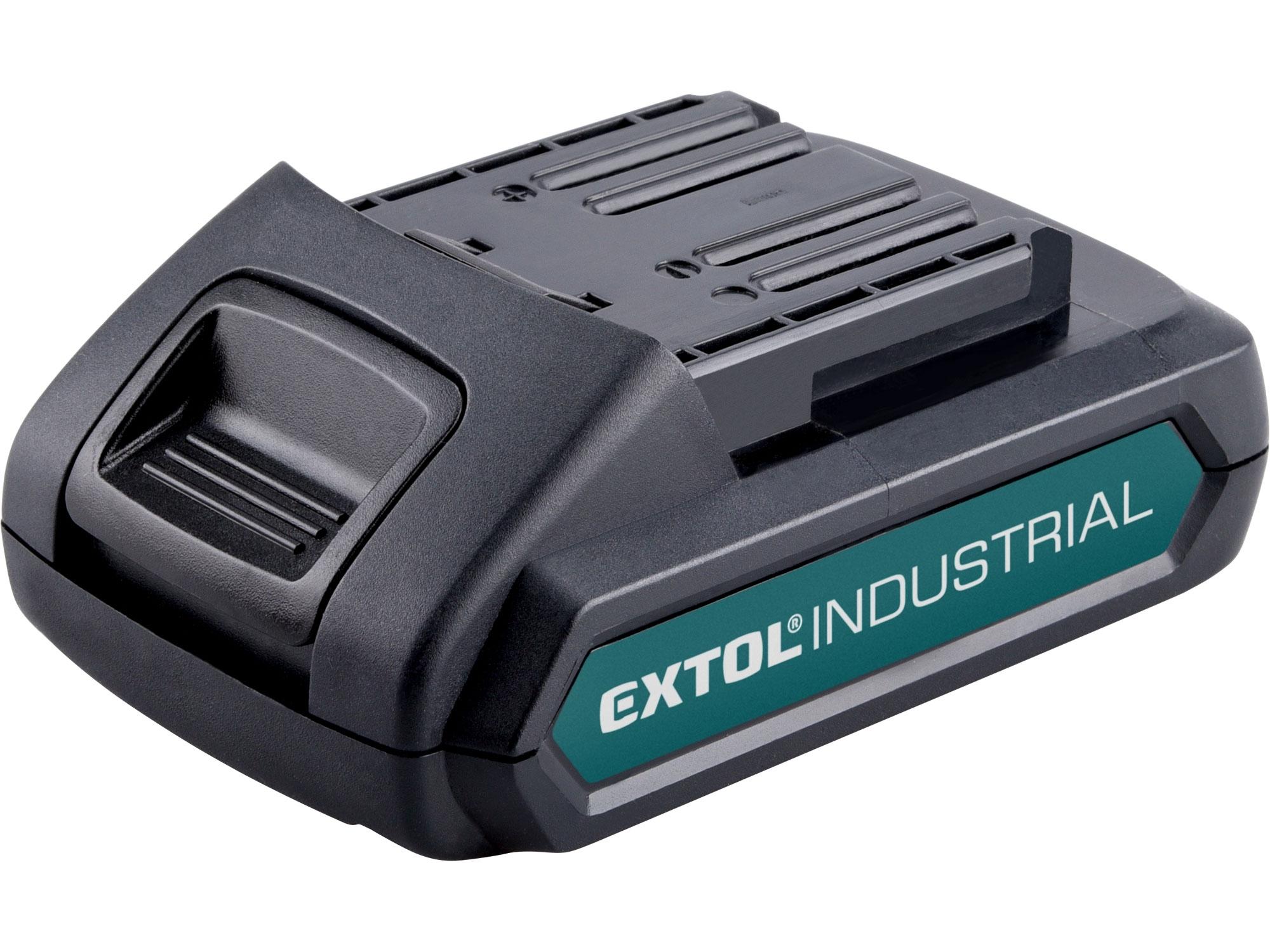 baterie akumulátorová 18V, Li-ion, 2000mAh