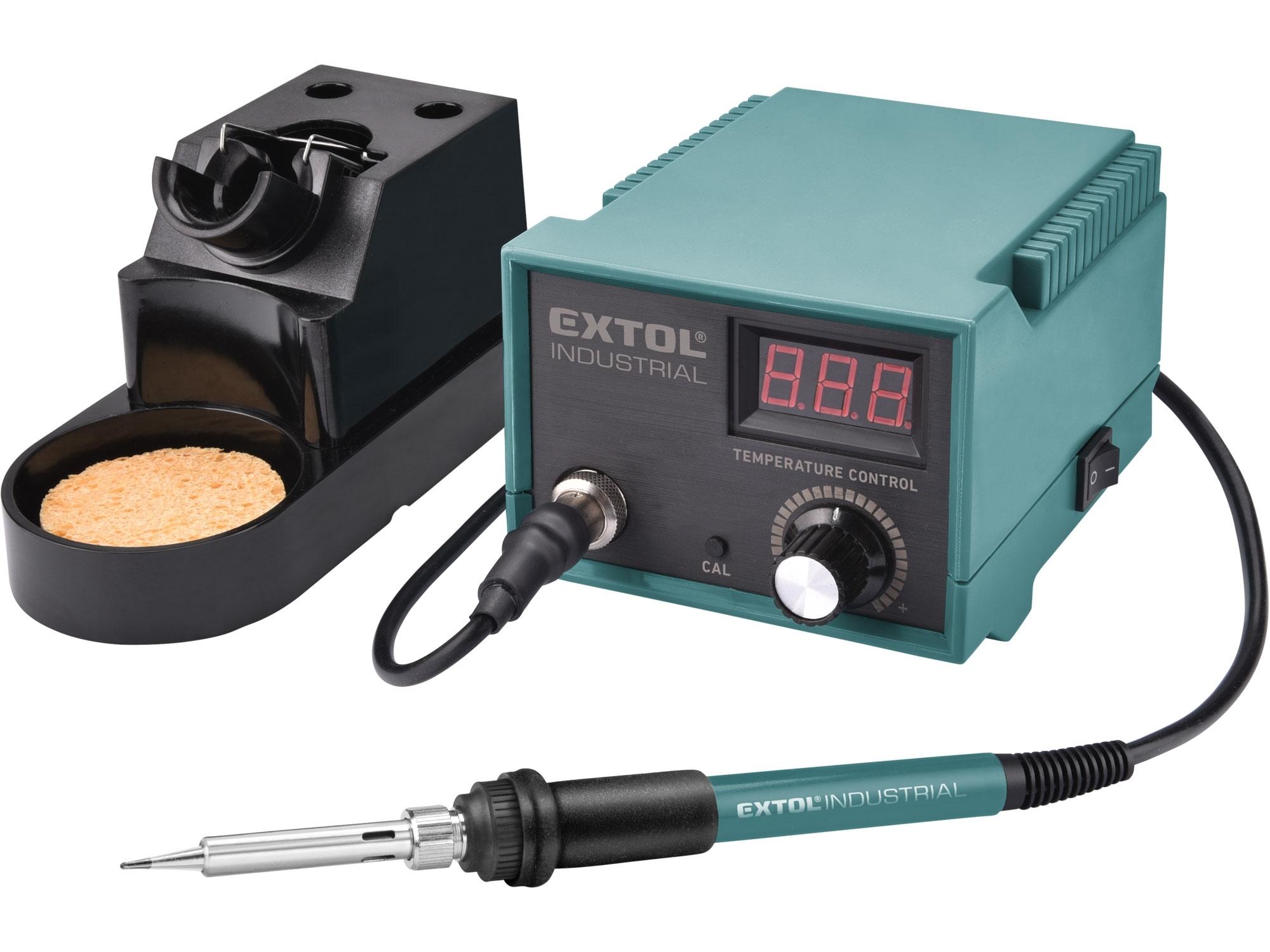 stanice pájecí s LCD a elektronickou regulací teploty a kalibrací