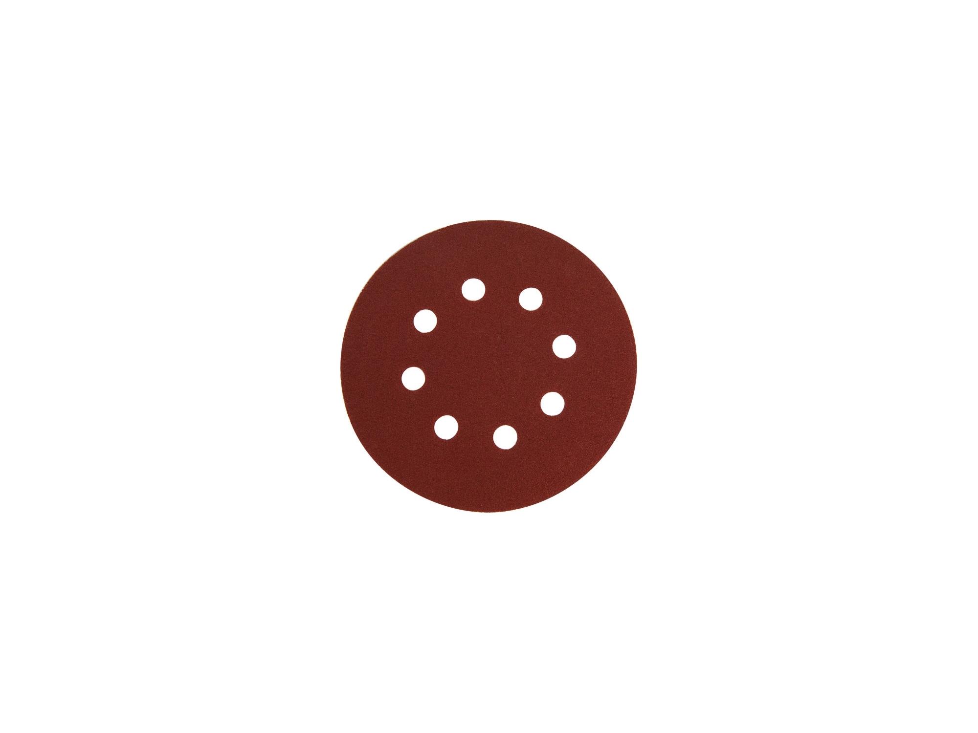 papíry brusné výsek, suchý zip, bal. 10ks, 125mm, P150