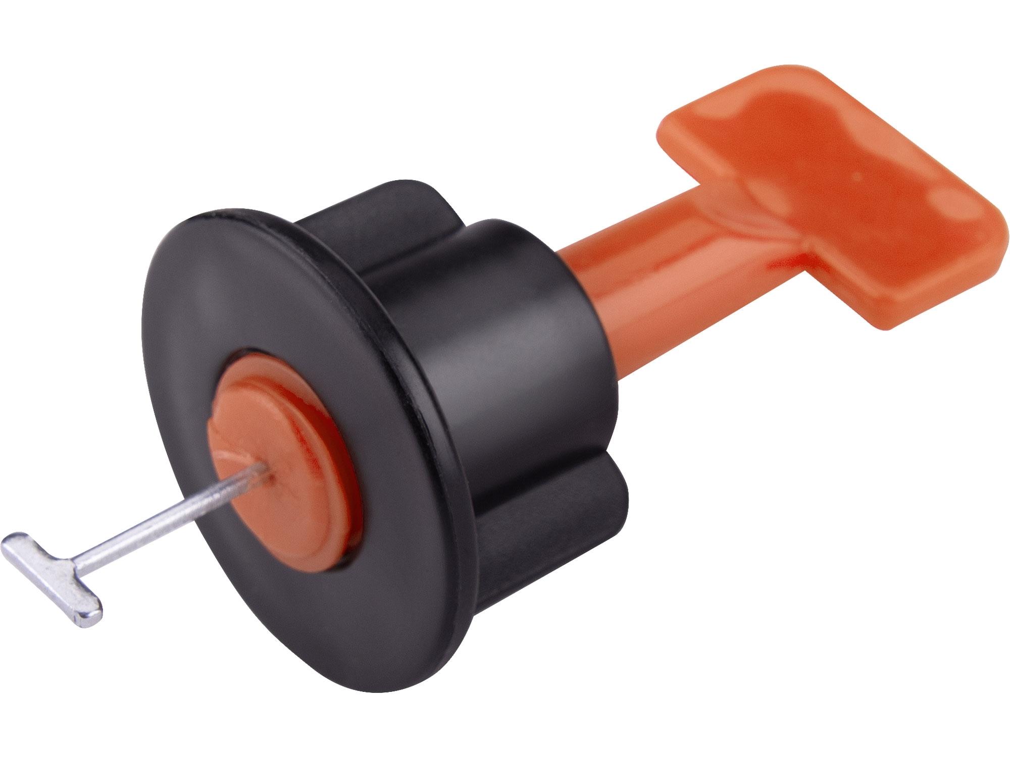 distanční/nivelační klipy opakovaně použitelné, sada 50ks, pro vyrovnání obkladů/dlažby až do jejich max. tloušťky 17mm
