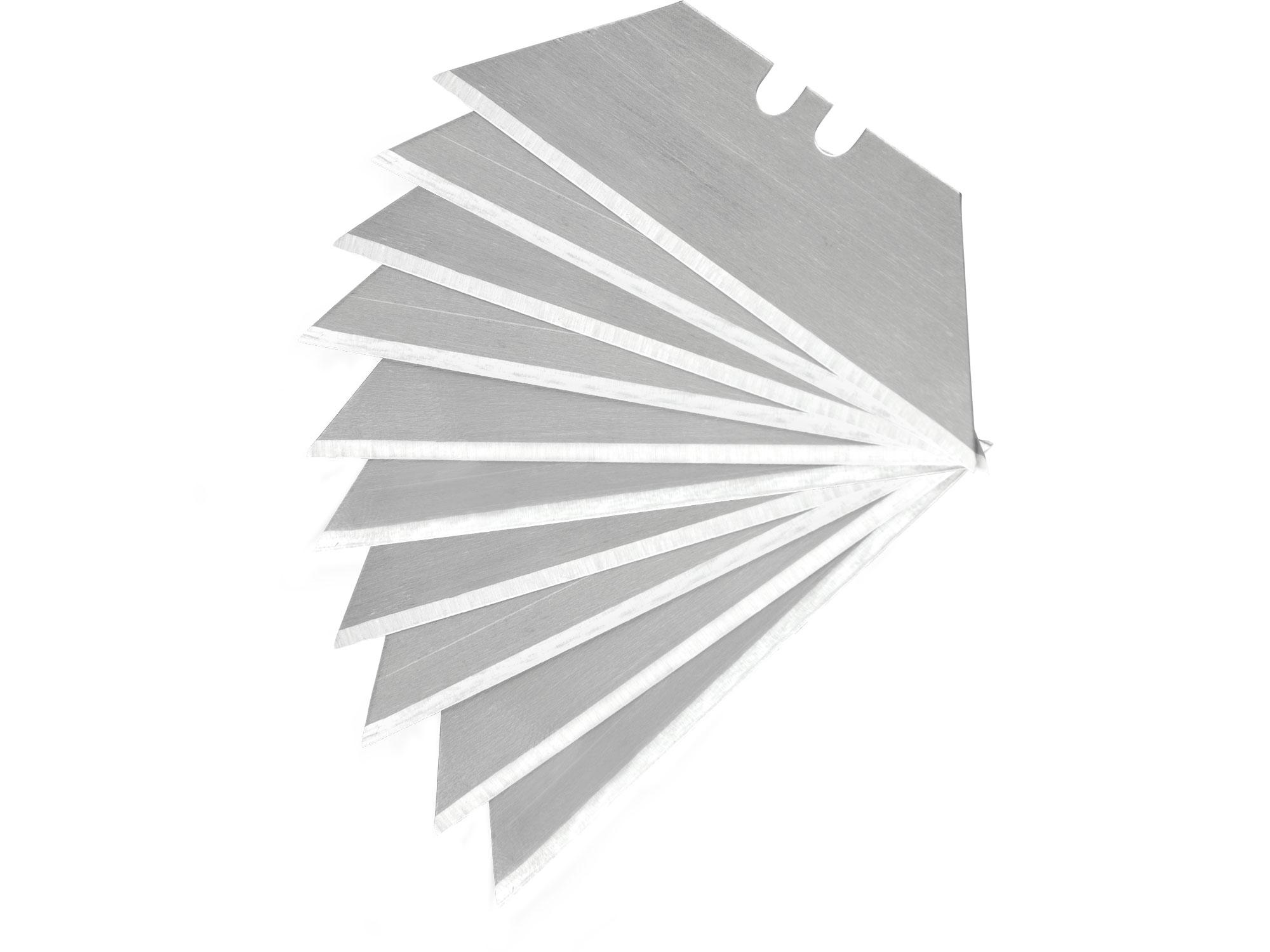 břity do nože, 19mm, 10ks, trapezoid, SK4