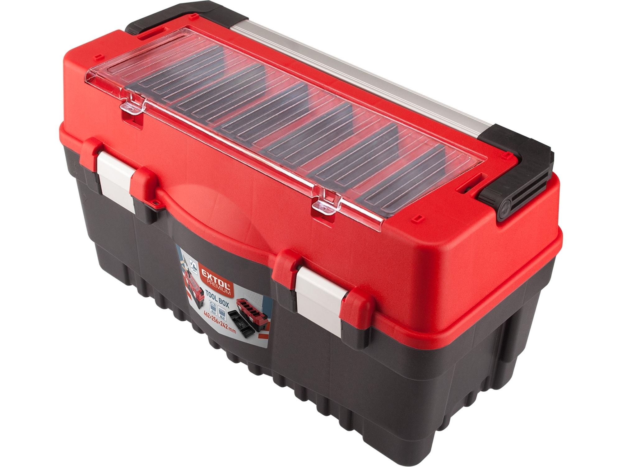 kufr na nářadí CARBO, L velikost, 595x289x328mm