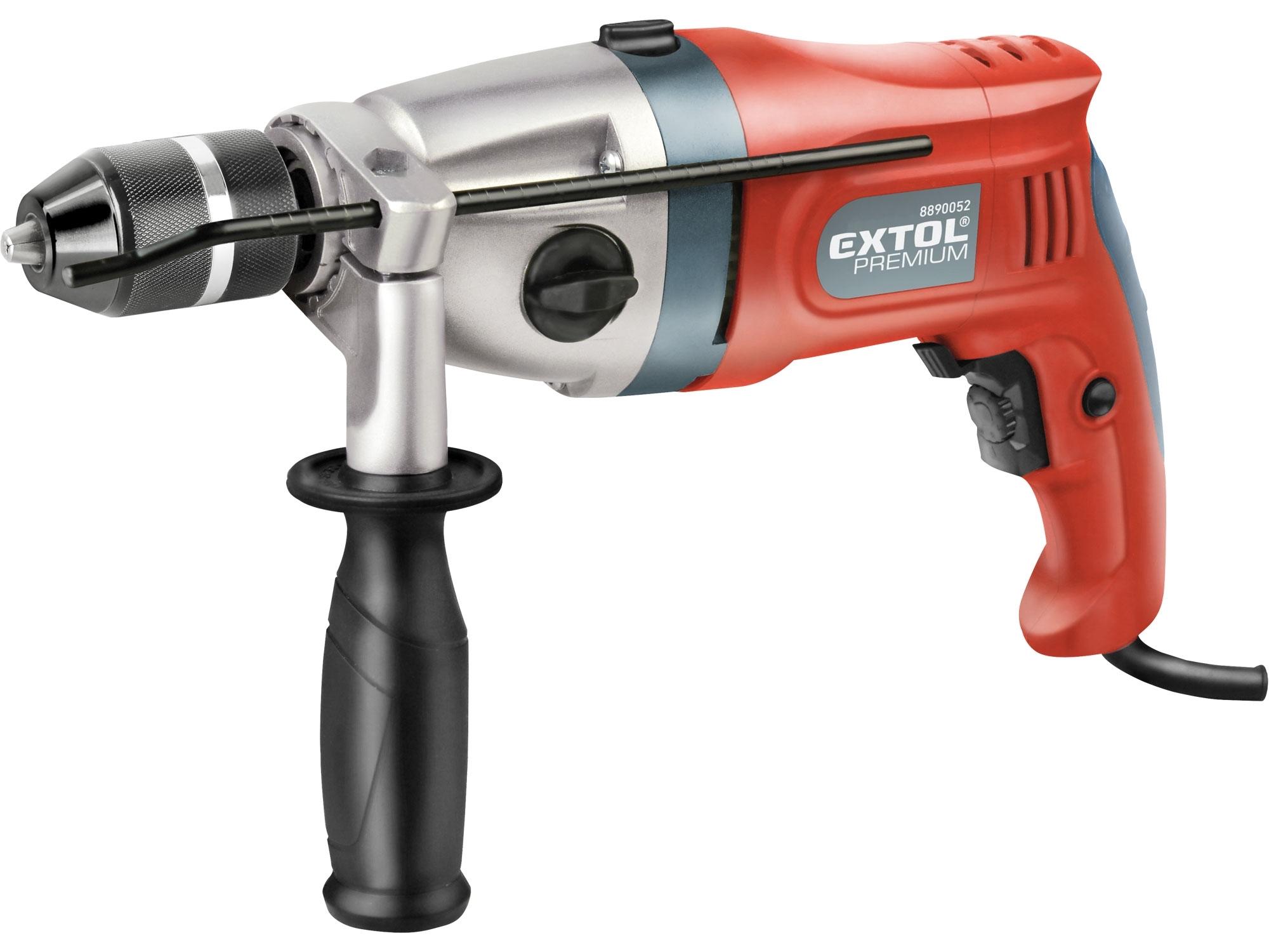 Vrtačka s příklepem 1100W, EXTOL Premium ID 1100 CF 8890052