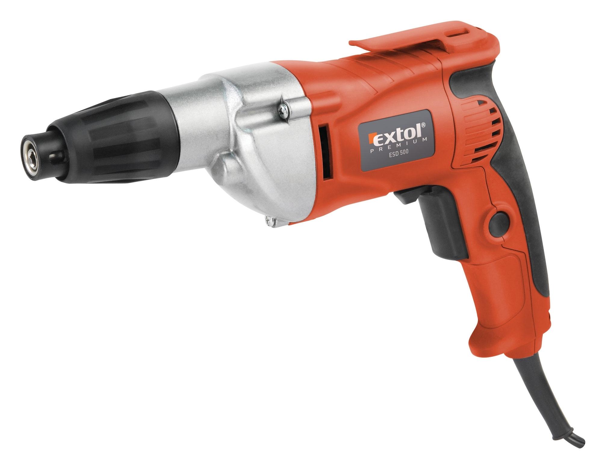 Šroubovák elektrický, 500W, EXTOL Premium, ESD 500, 8890501