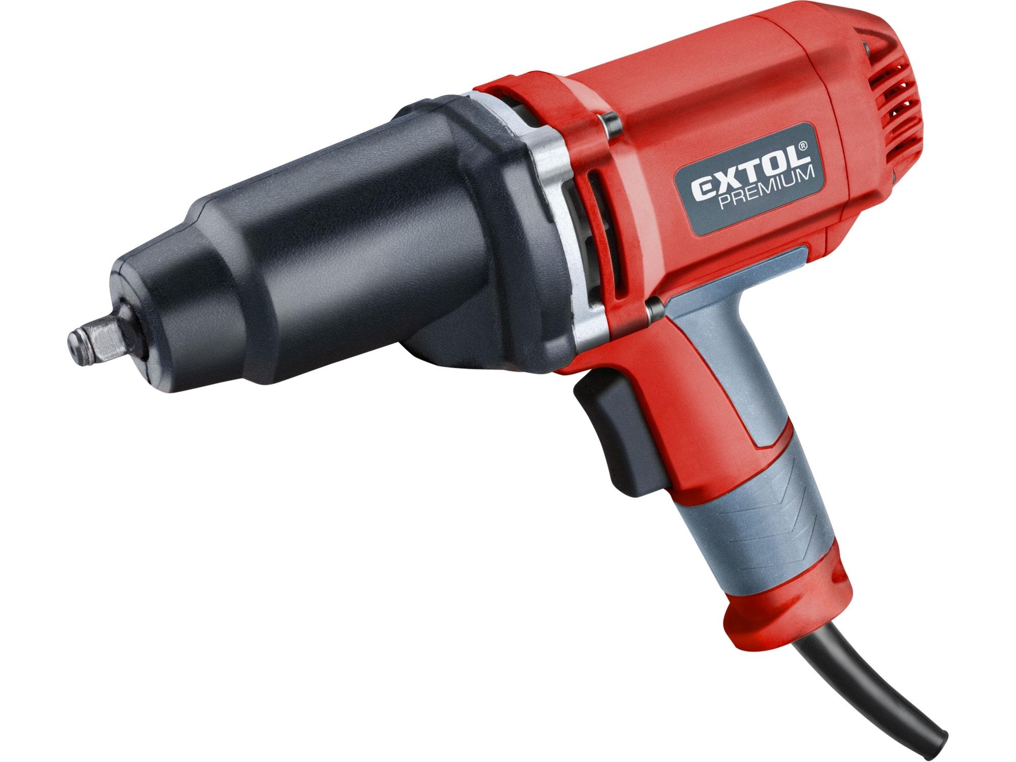 Rázový elektrický utahovák WR 500 EXTOL Premium 8890603