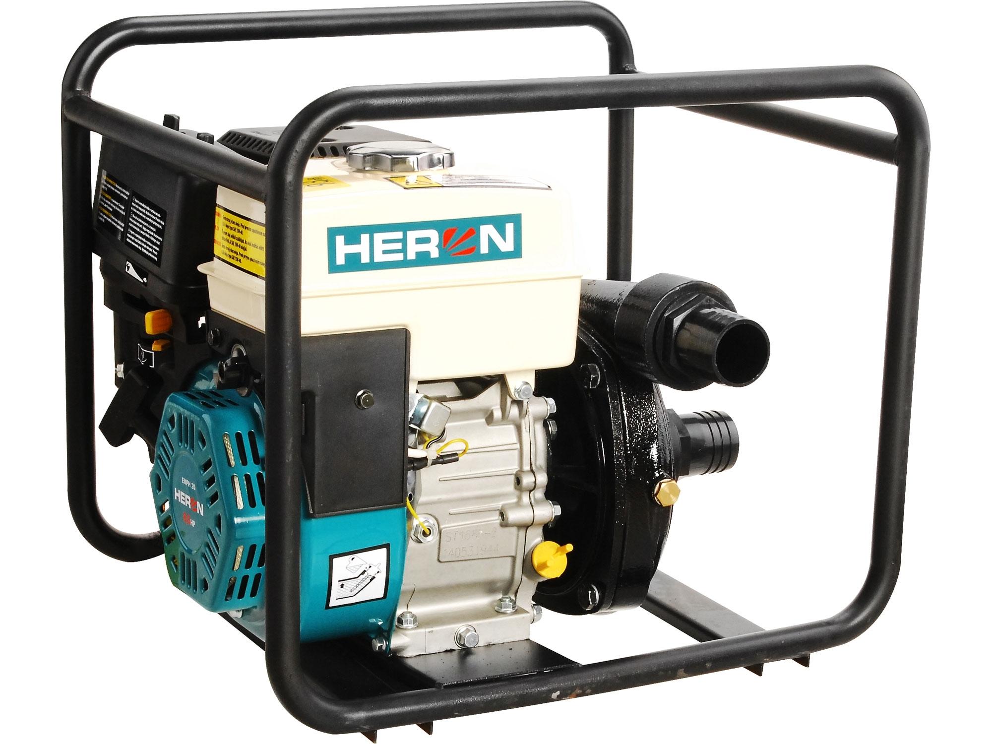 HERON čerpadlo motorové tlakové 6,5HP, 500l/min