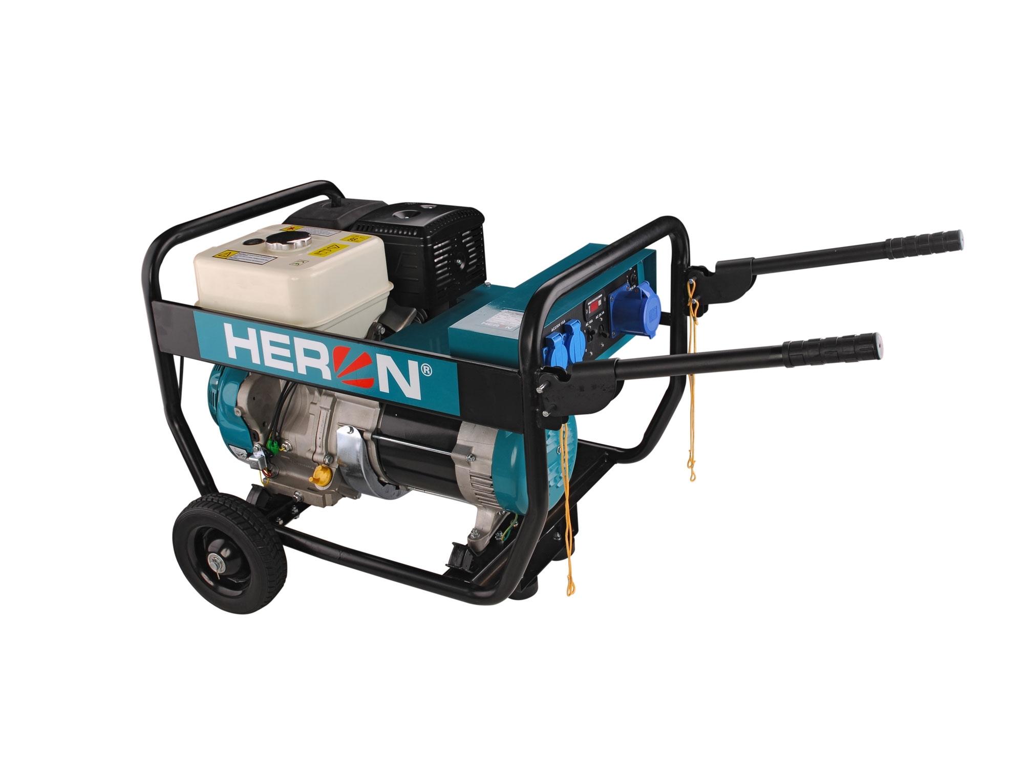 HERON elektrocentrála benzínová 15HP