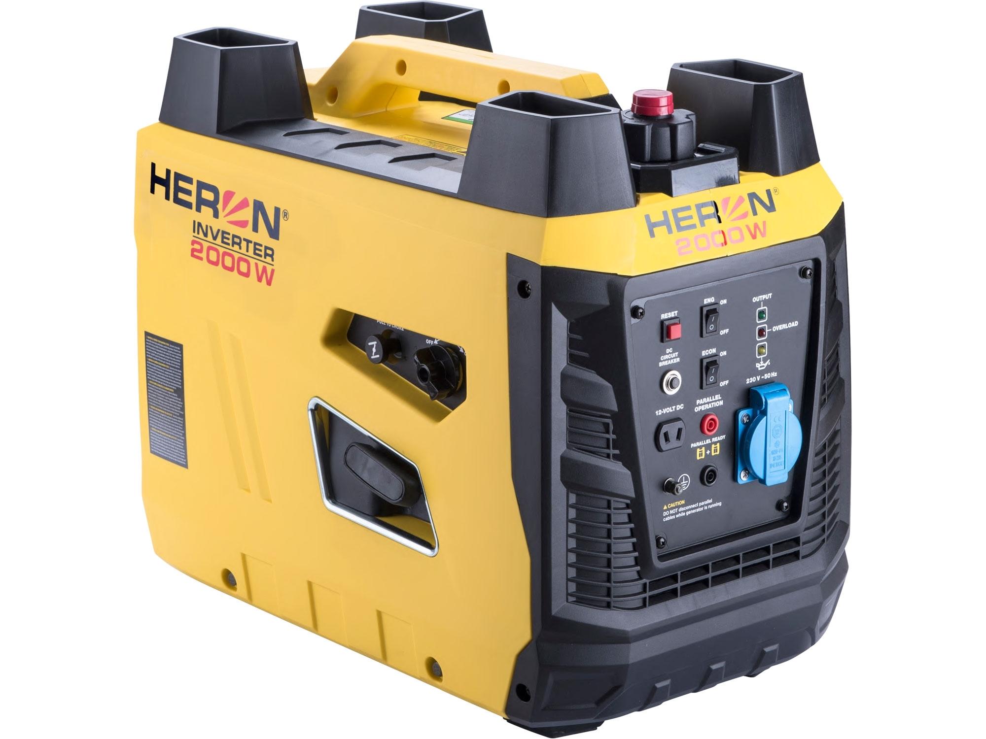 HERON elektrocentrála digitální invertorová 3,3HP/2kW
