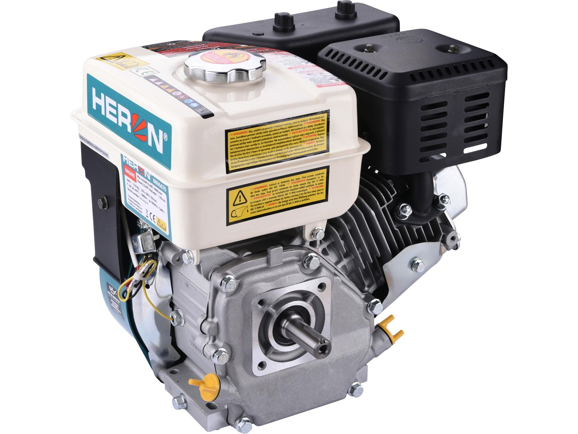HERON motor samostatný, 163ccm, 5,5HP