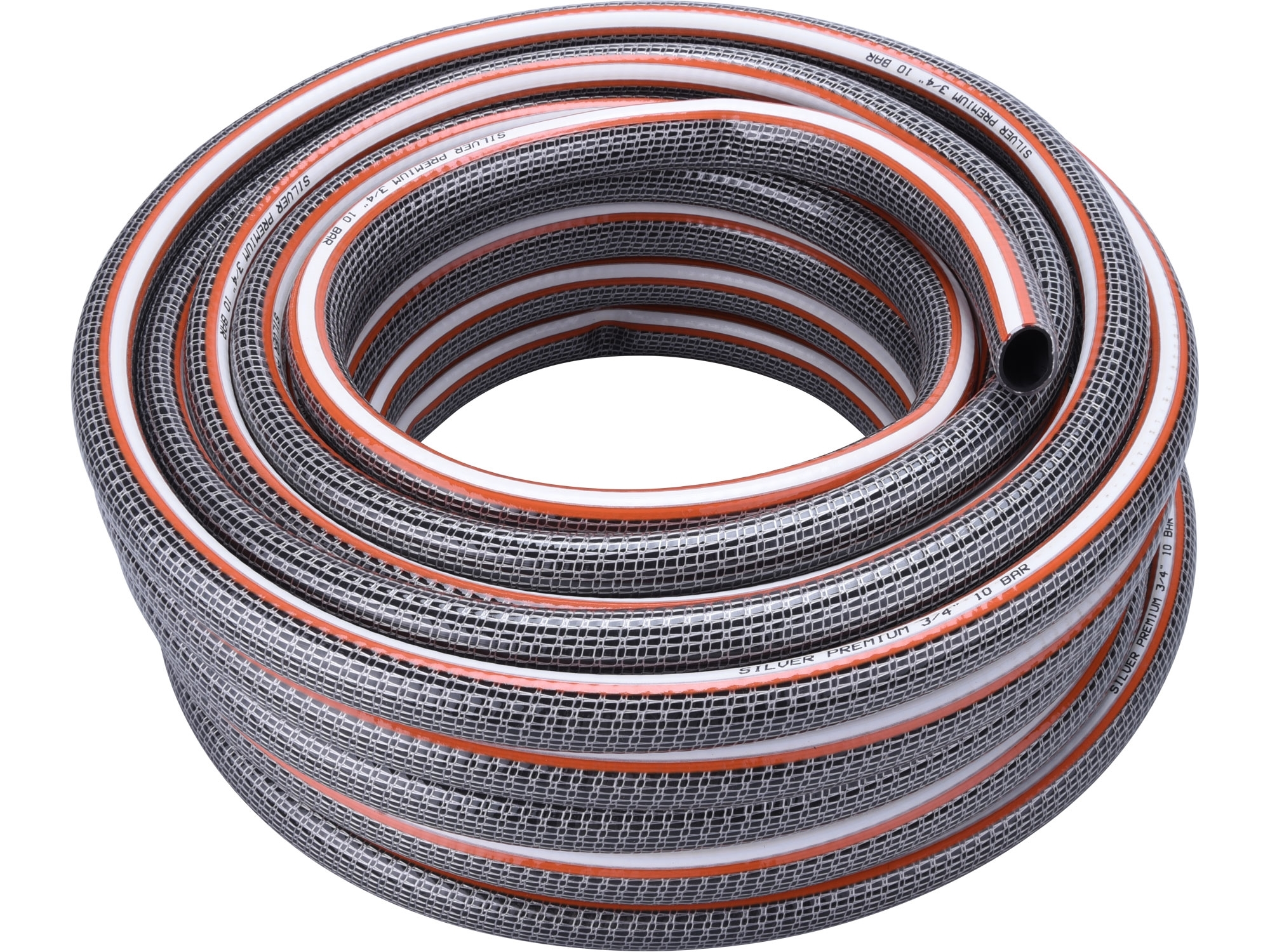 """hadice zahradní neprůhledná SILVER, 3/4"""", 25m, 240g/m"""