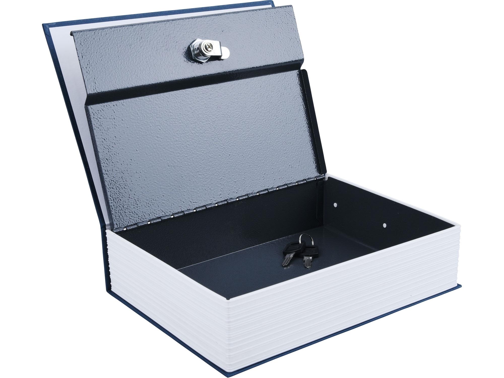 schránka bezpečnostní - knížka, 265x205x65mm