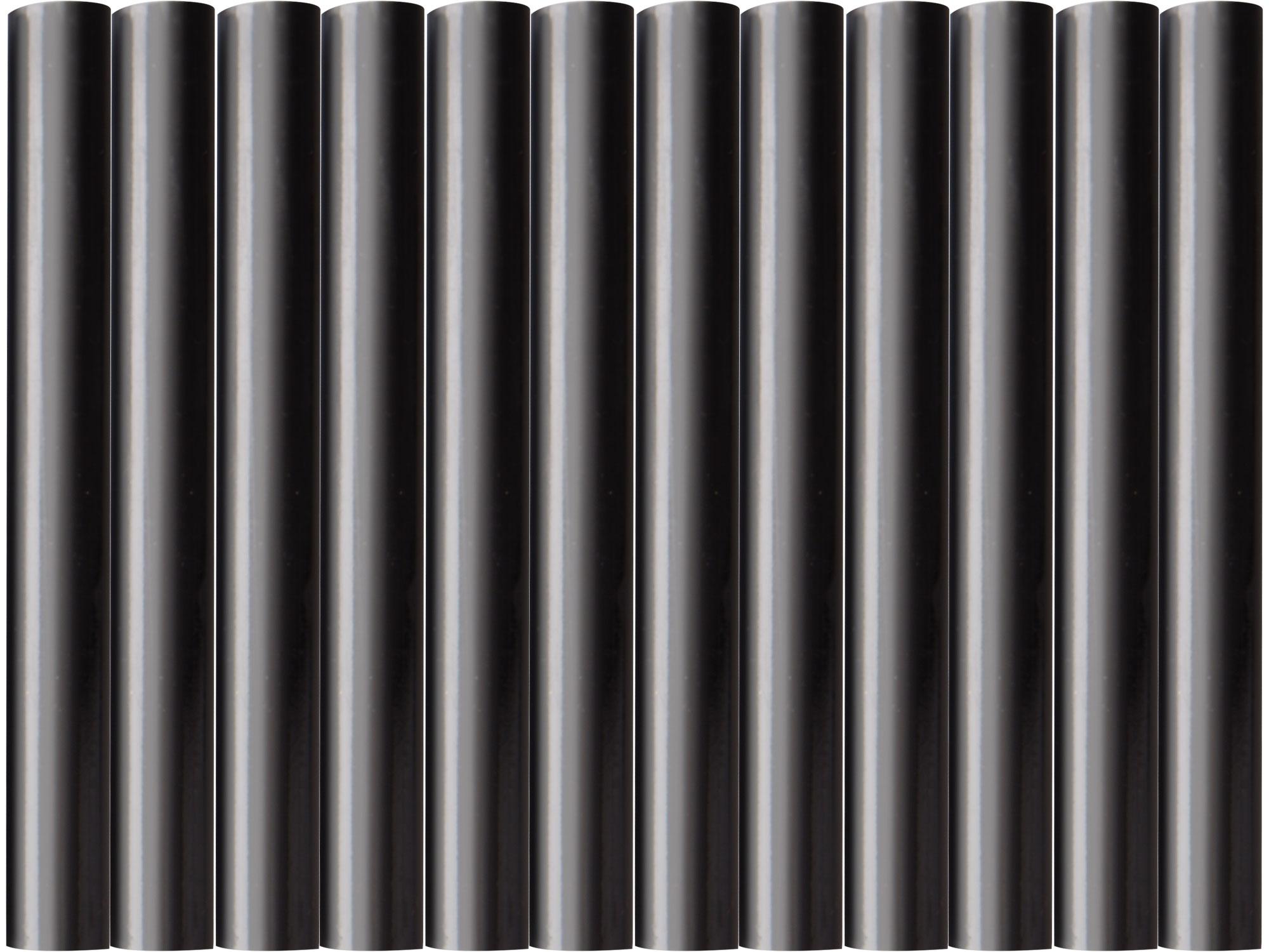 tyčinky tavné, černá barva, pr.11x100mm, 12ks