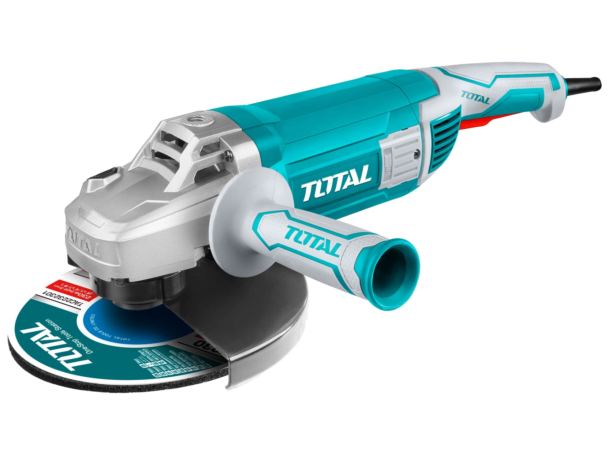 TOTAL TG1252306 bruska úhlová, 230mm, 2400W, industrial