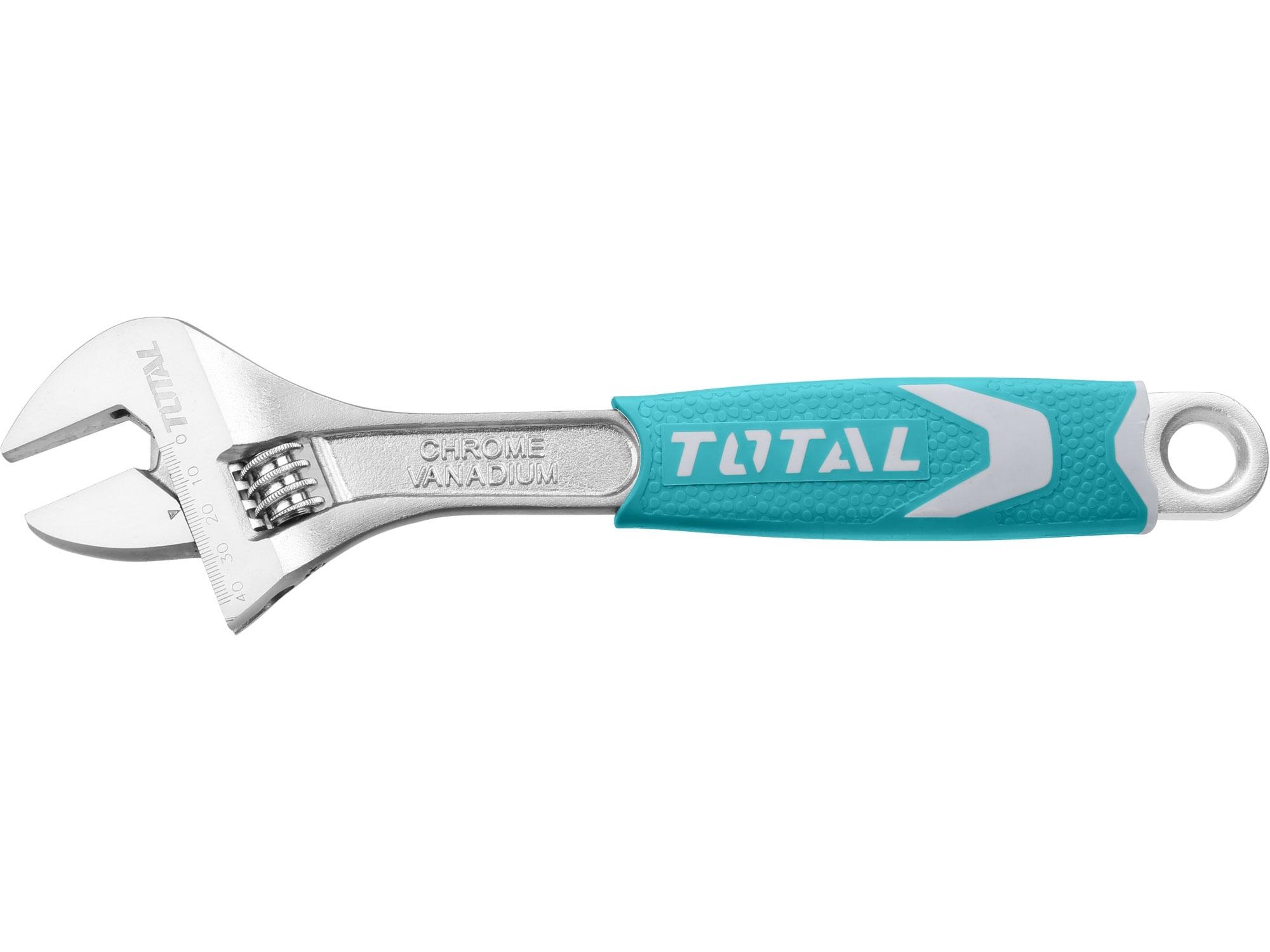 TOTAL THT101126 klíč nastavitelný, délka 300mm, CrV