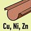 Vhodný na použití pro: měkké kovy