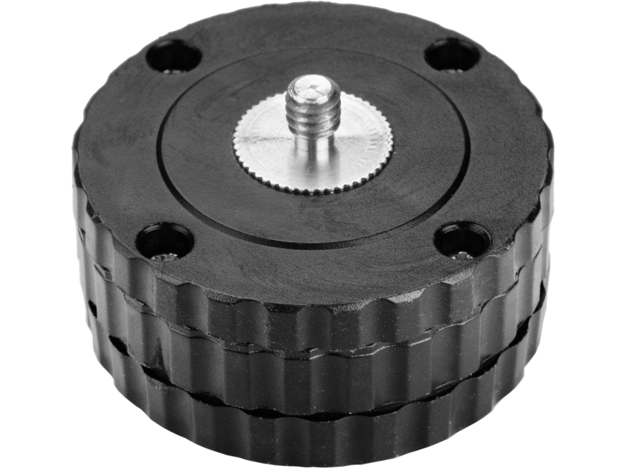 "adaptér rotační, vnitř. závit 5/8"" - šroub 1/4"""