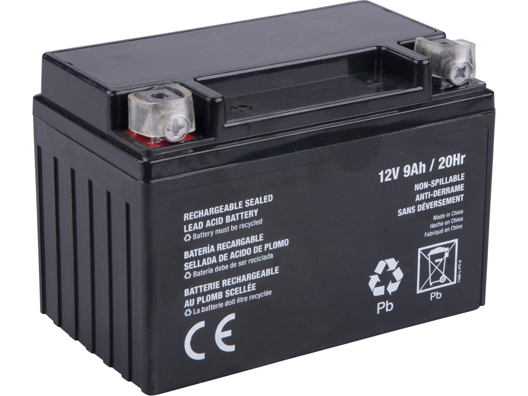 akumulátor pro elektrický start, 12V, 9Ah