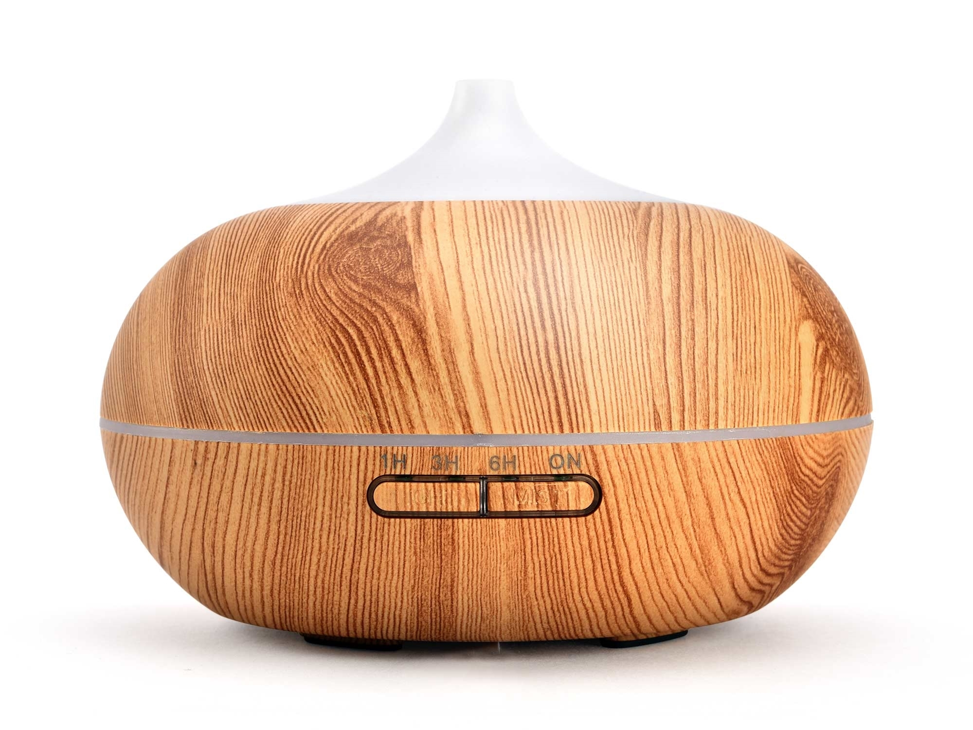 aroma difuzér Sumó, osvěžovač a zvlhčovač vzduchu, světlé dřevo, 300ml 569604