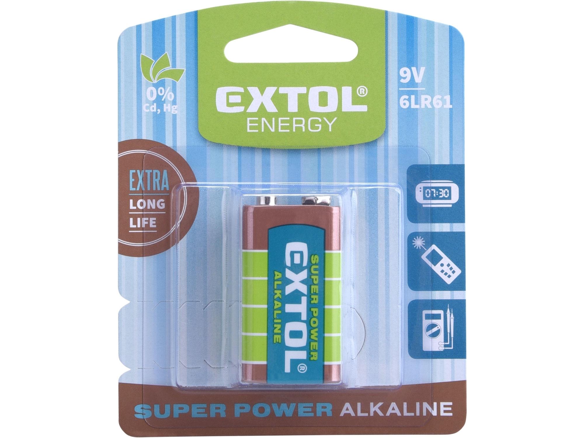 Baterie alkal.9V (6LR61)