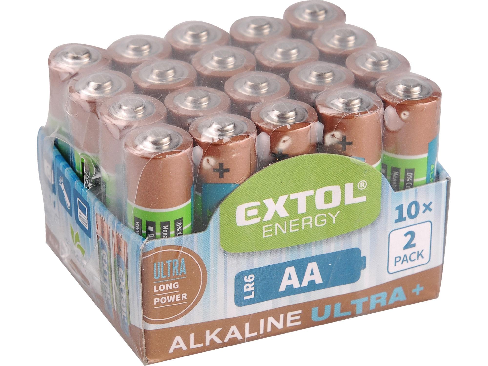 Baterie 20ks alkal.AA 1.5V (LR6)