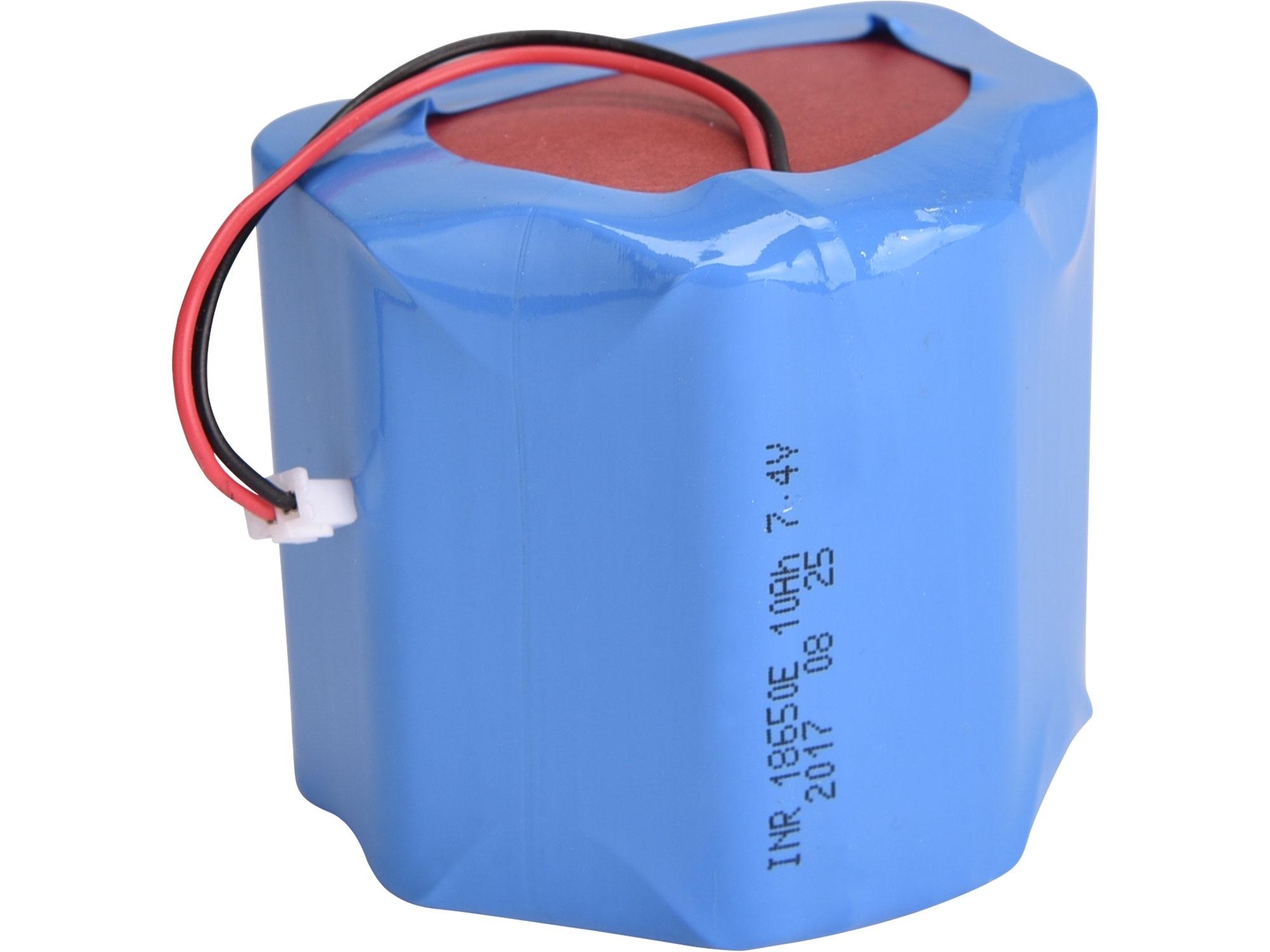 baterie náhradní 7,4V, Li-ion, 9600mAh, EXTOL LIGHT 43128B