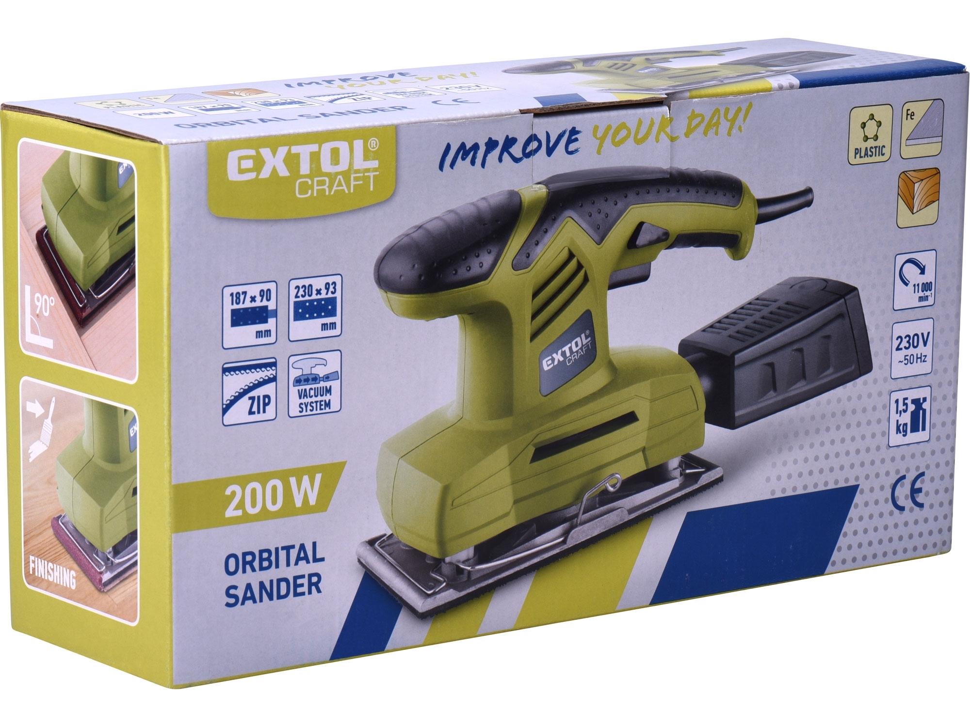 EXTOL 407115 200W bruska vibrační