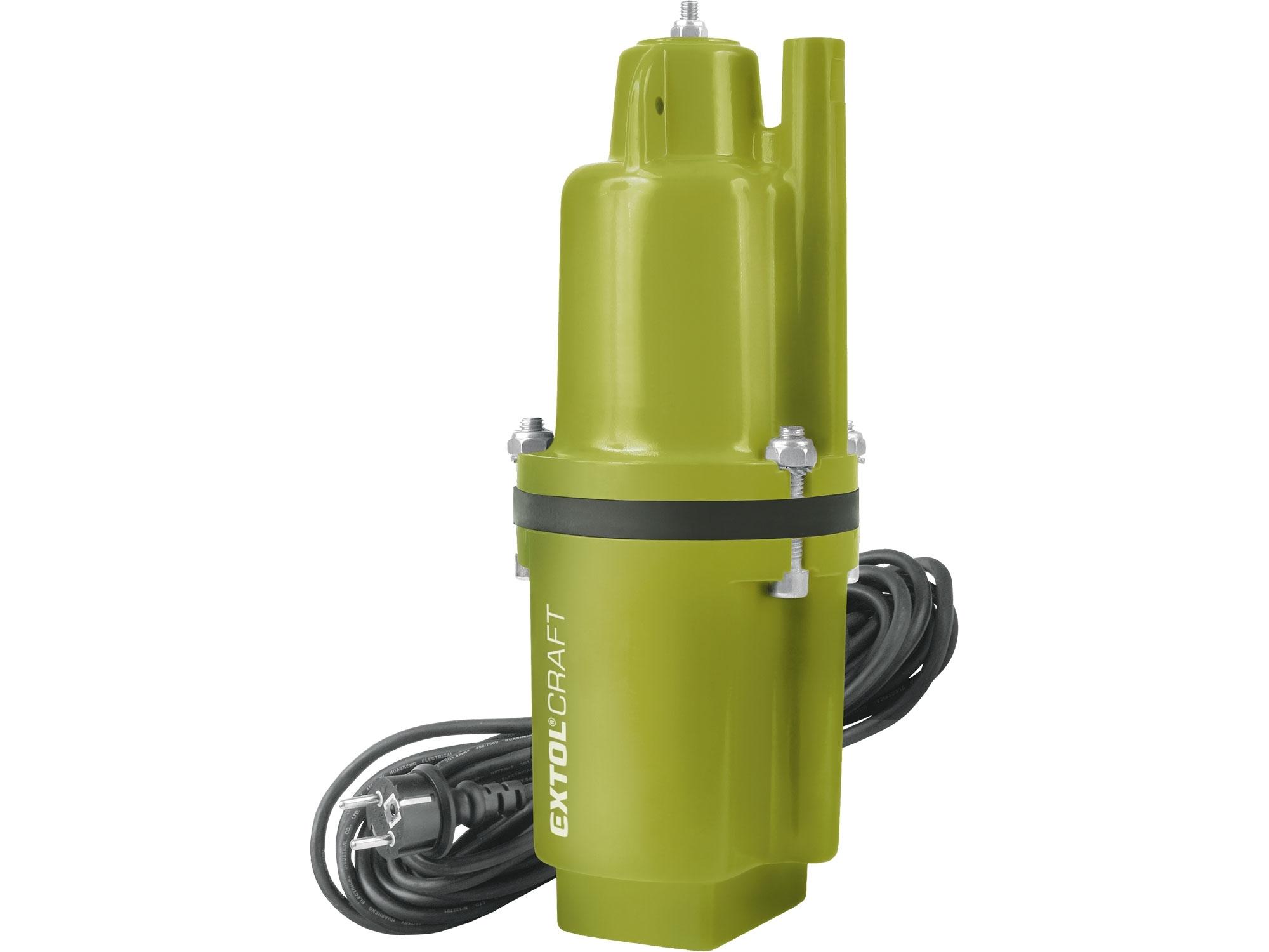 čerpadlo membránové hlubinné ponorné, 300W, 1400l/hod, 10m, EXTOL CRAFT 414170