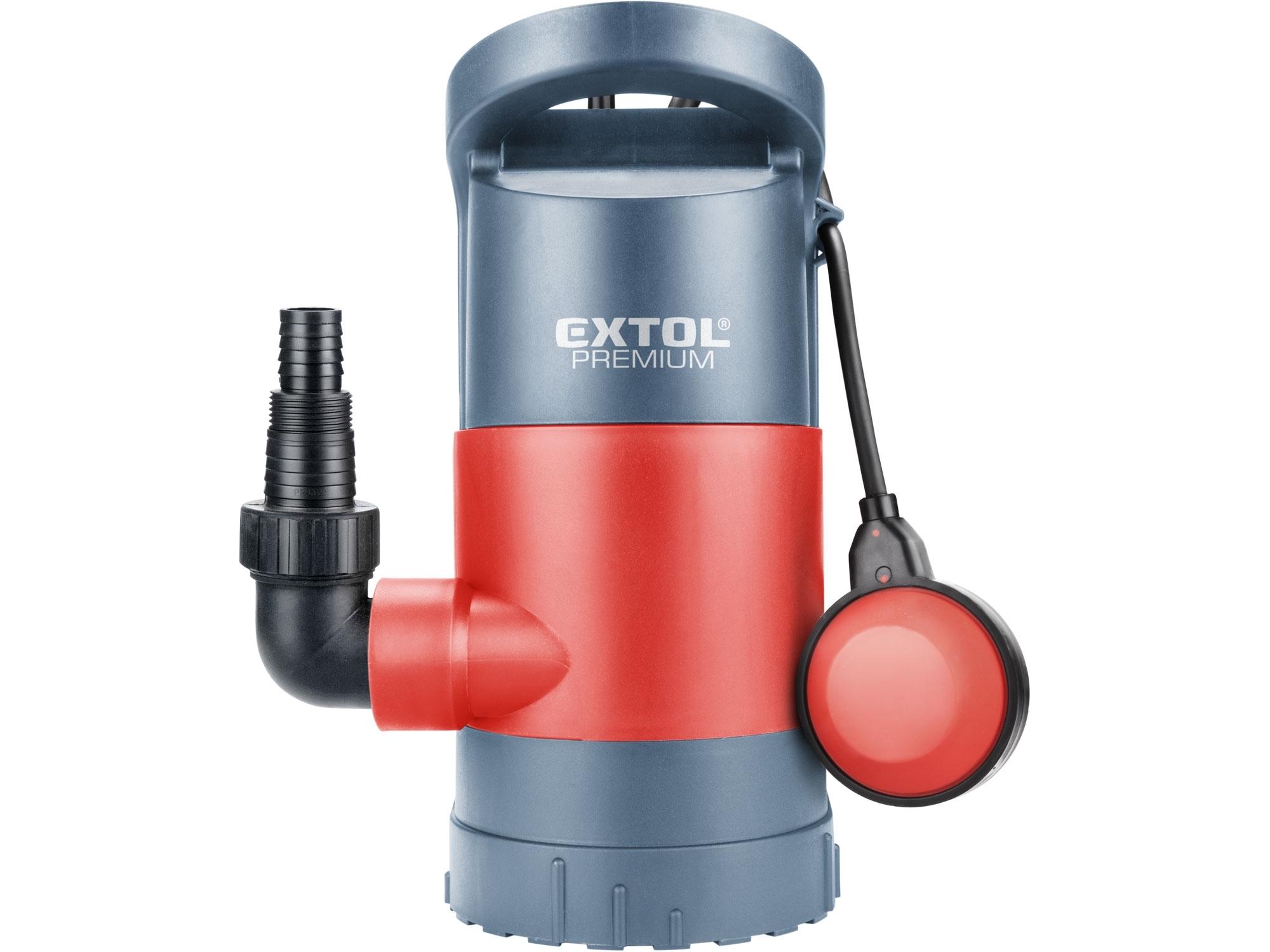 čerpadlo na znečištěnou vodu 3v1, 900W, 13000l/h, EXTOL PREMIUM, SP 900 8895013