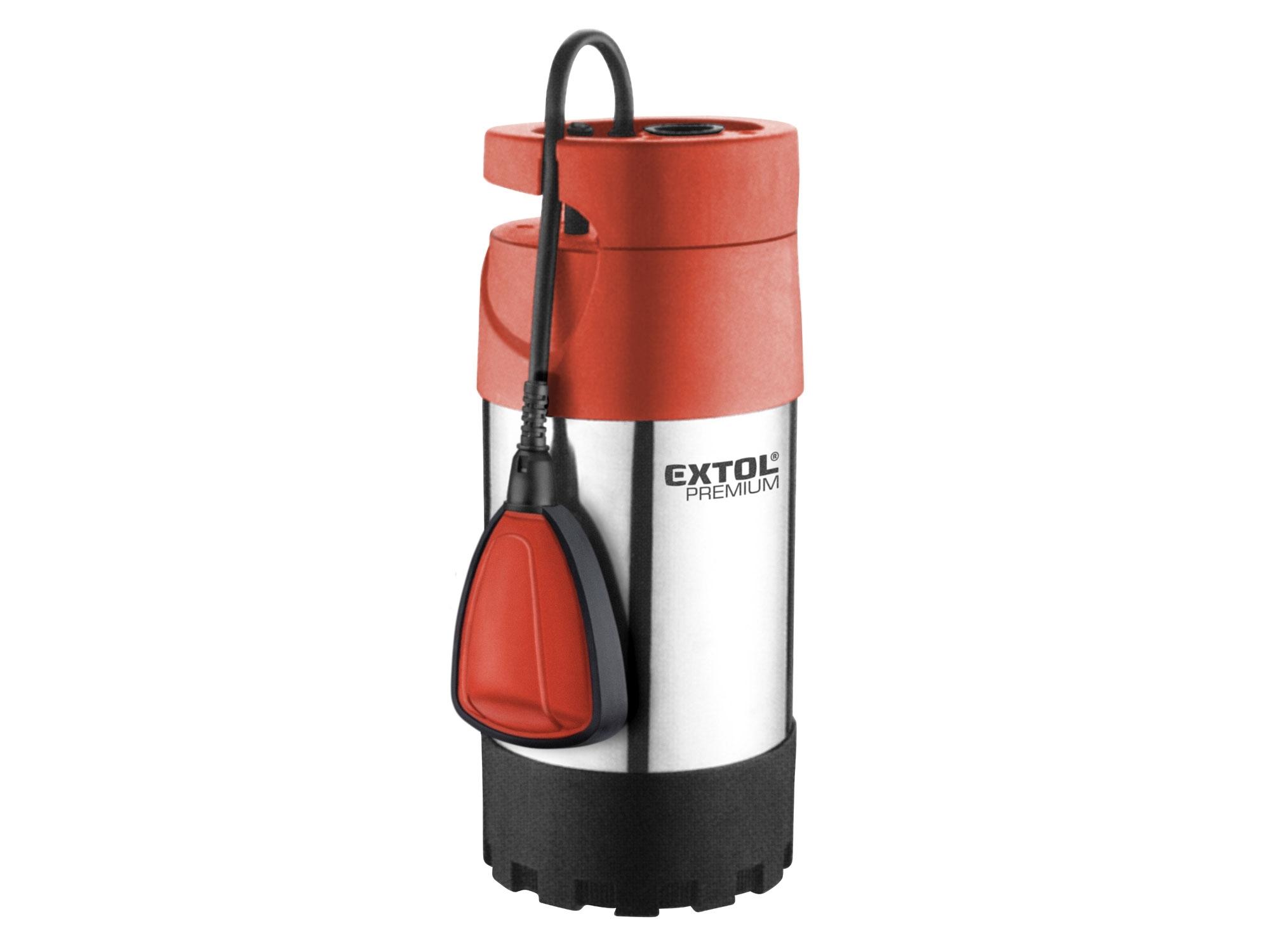 čerpadlo el. ponorné tlakové, 1000W, 5500l/hod, EXTOL PREMIUM, SPF 1000 G4 8895008