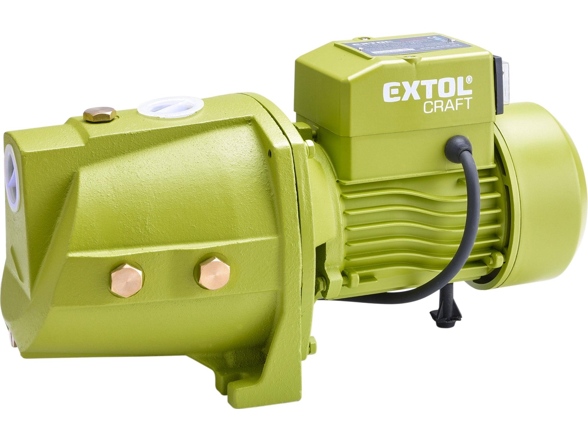 čerpadlo proudové, 500W, 3080l/hod, EXTOL CRAFT  414262