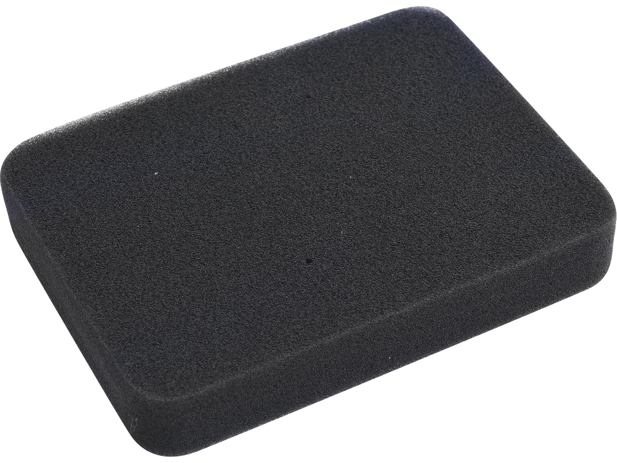 filtr vzduchový, 132 x 74 x 24mm, pěna, HERON 8896411B