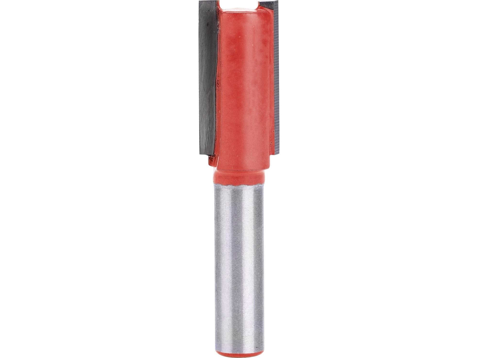fréza drážkovací do dřeva, D6,3 x H25; průměr stopky 8mm