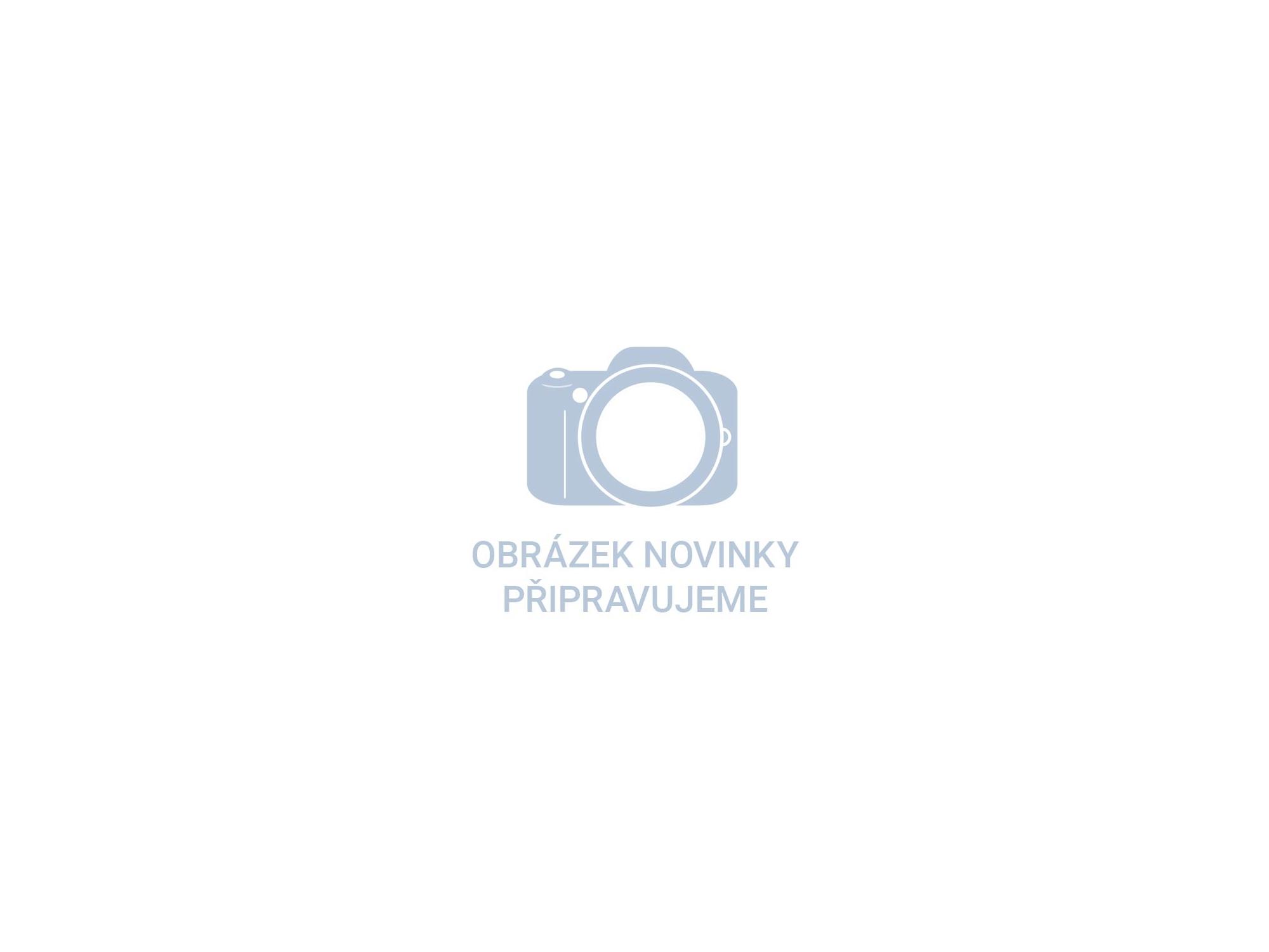 fréza karbidová, konická-jehlan, pr.10x20mm/stopka 6mm,sek střední(double-cut)