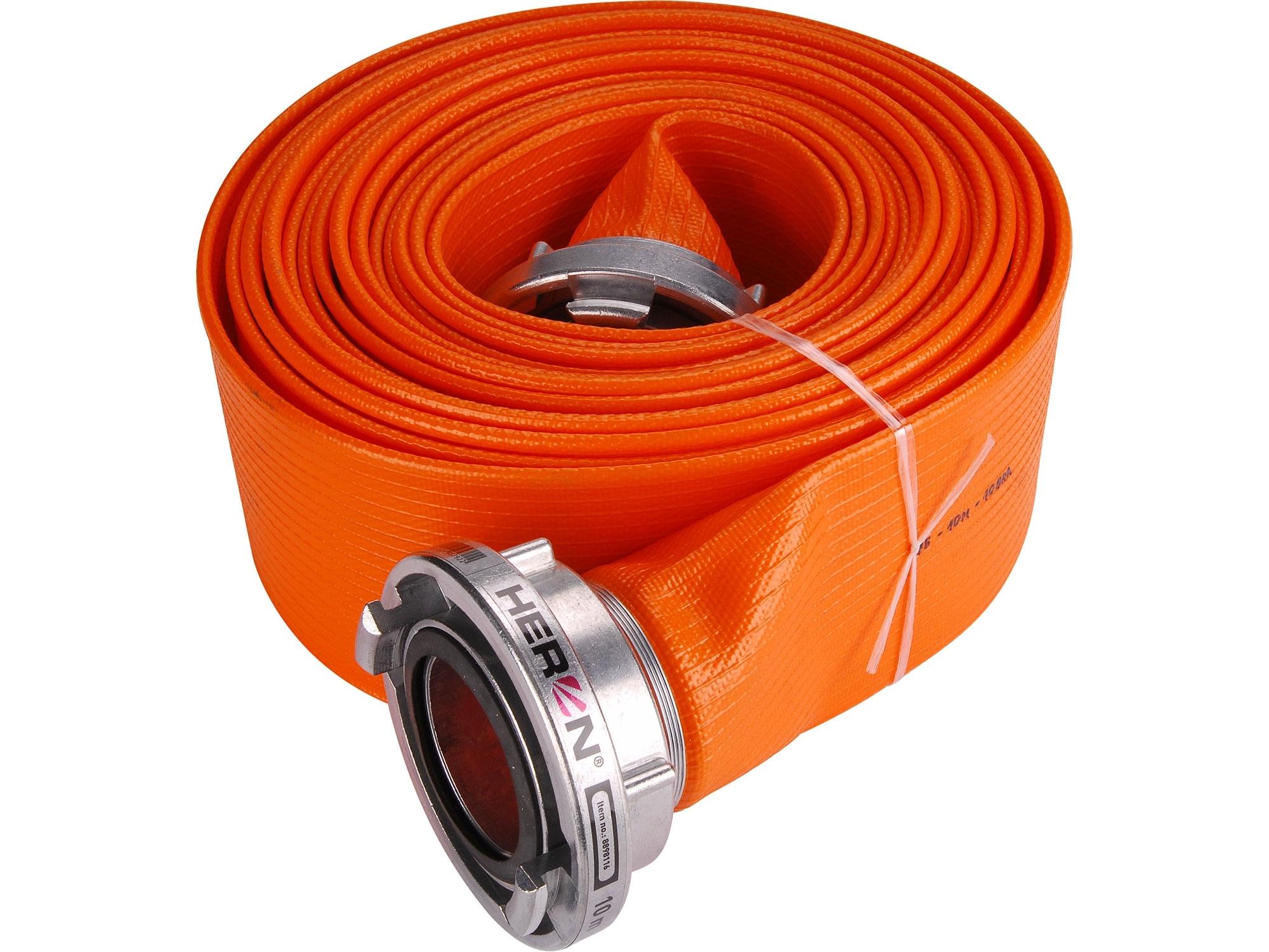 """hadice B75 PVC, 3"""", 10m se spojkami, HERON 8898116"""