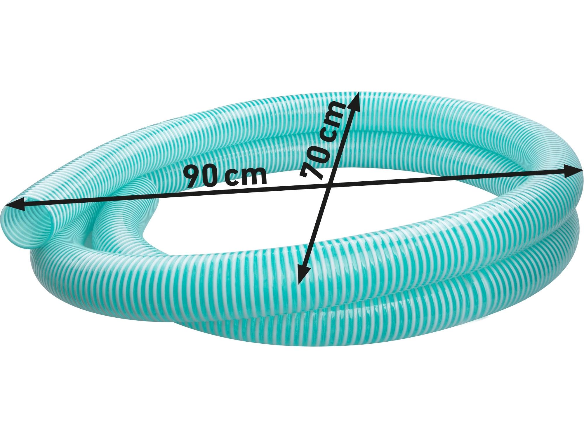 "hadice sací s plast. spirálou, 3"", 5m, HERON 900487"