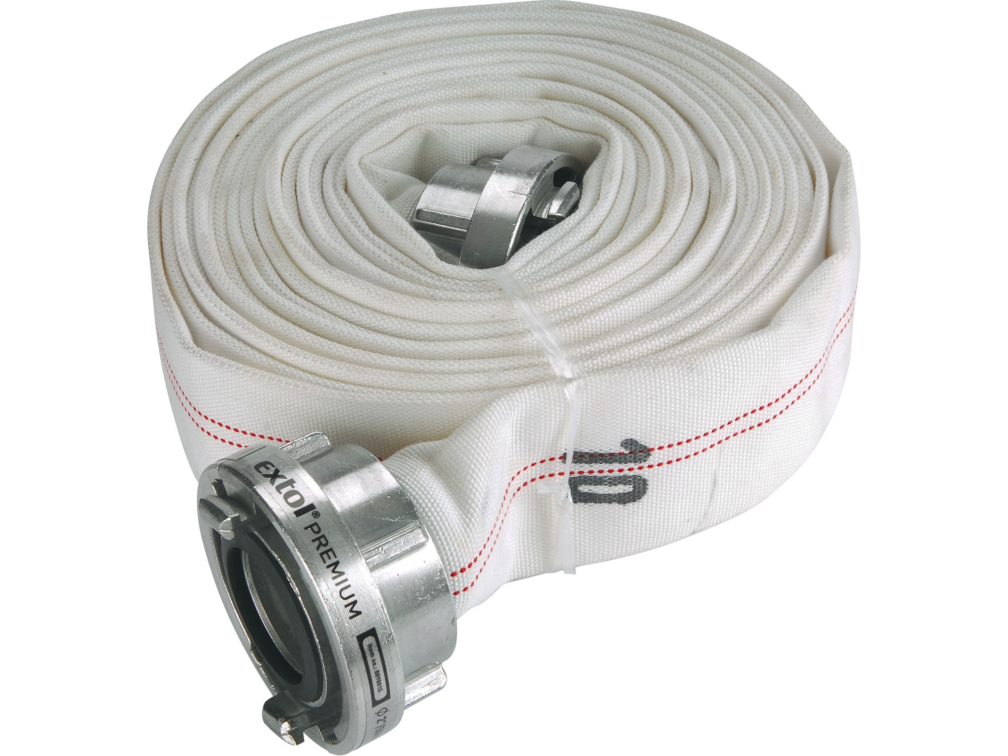 "hadice C52, 10m se spojkami, PVC, oplet PES, 2"" (50mm), 10m, EXTOL PREMIUM 8898015"