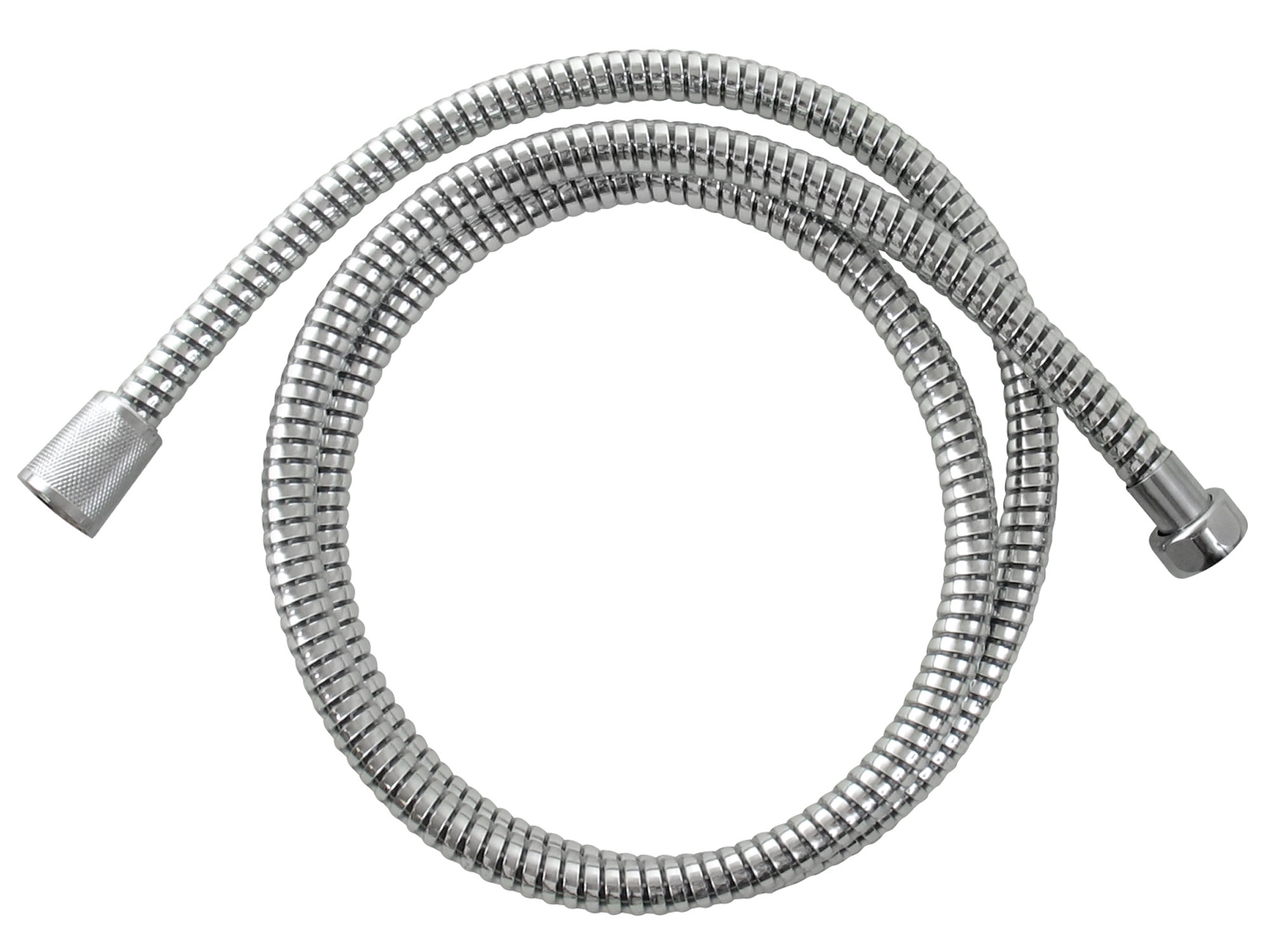 hadice sprchová, černo/stříbrná, 150cm, PVC, FRESHHH 830228