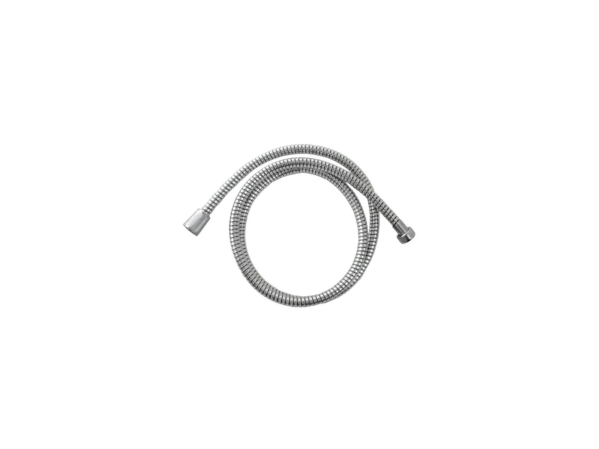 hadice sprchová, černo/stříbrná, 150cm, rotační, PVC, VIKING 630229