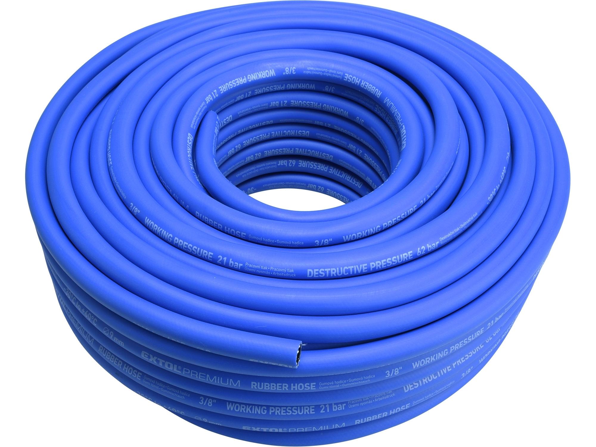 "hadice vzduchová, guma, 3/8"" (9/15mm), 50m"