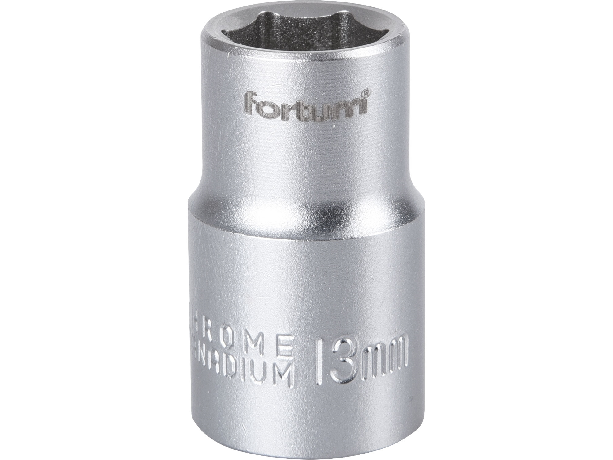 """hlavice nástrčná, 1/2"""", 13mm, L 38mm, FORTUM 4700413"""