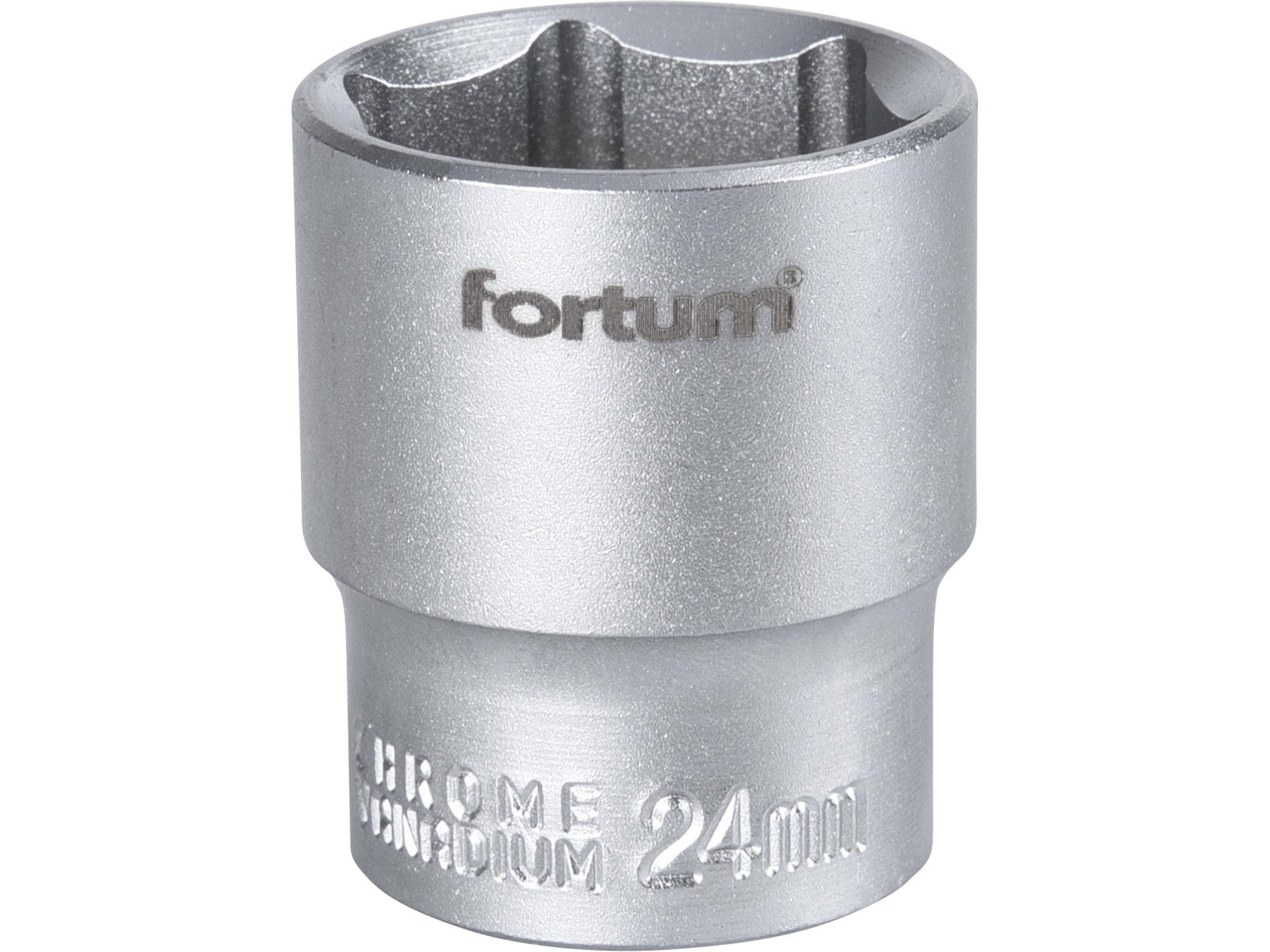 """hlavice nástrčná, 1/2"""", 24mm, L 38mm, FORTUM 4700424"""
